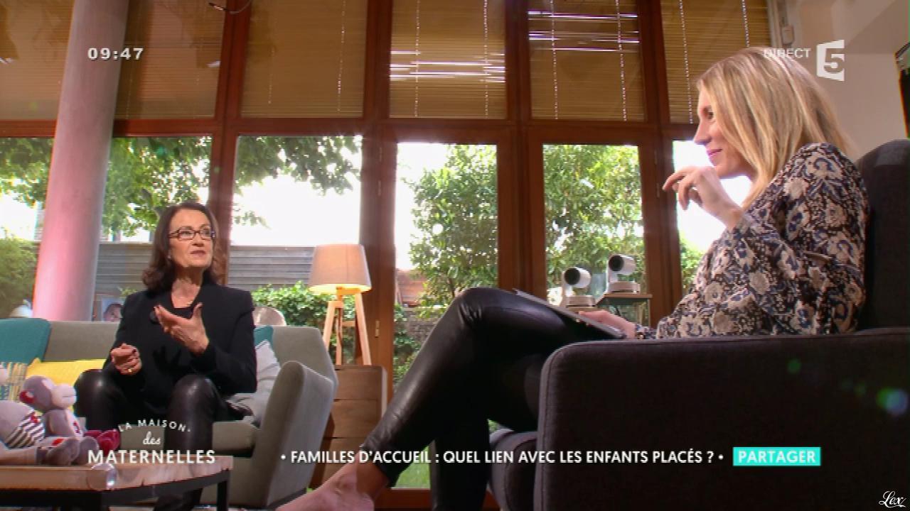 Agathe Lecaron dans la Maison des Maternelles. Diffusé à la télévision le 11/05/17.