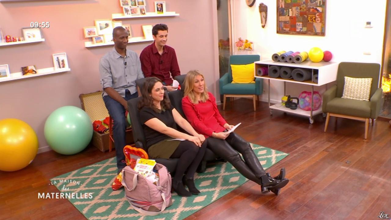 Agathe Lecaron dans la Maison des Maternelles. Diffusé à la télévision le 13/06/17.