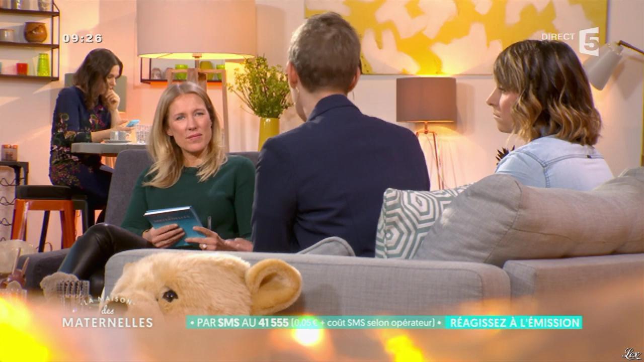Agathe Lecaron dans la Maison des Maternelles. Diffusé à la télévision le 18/01/17.