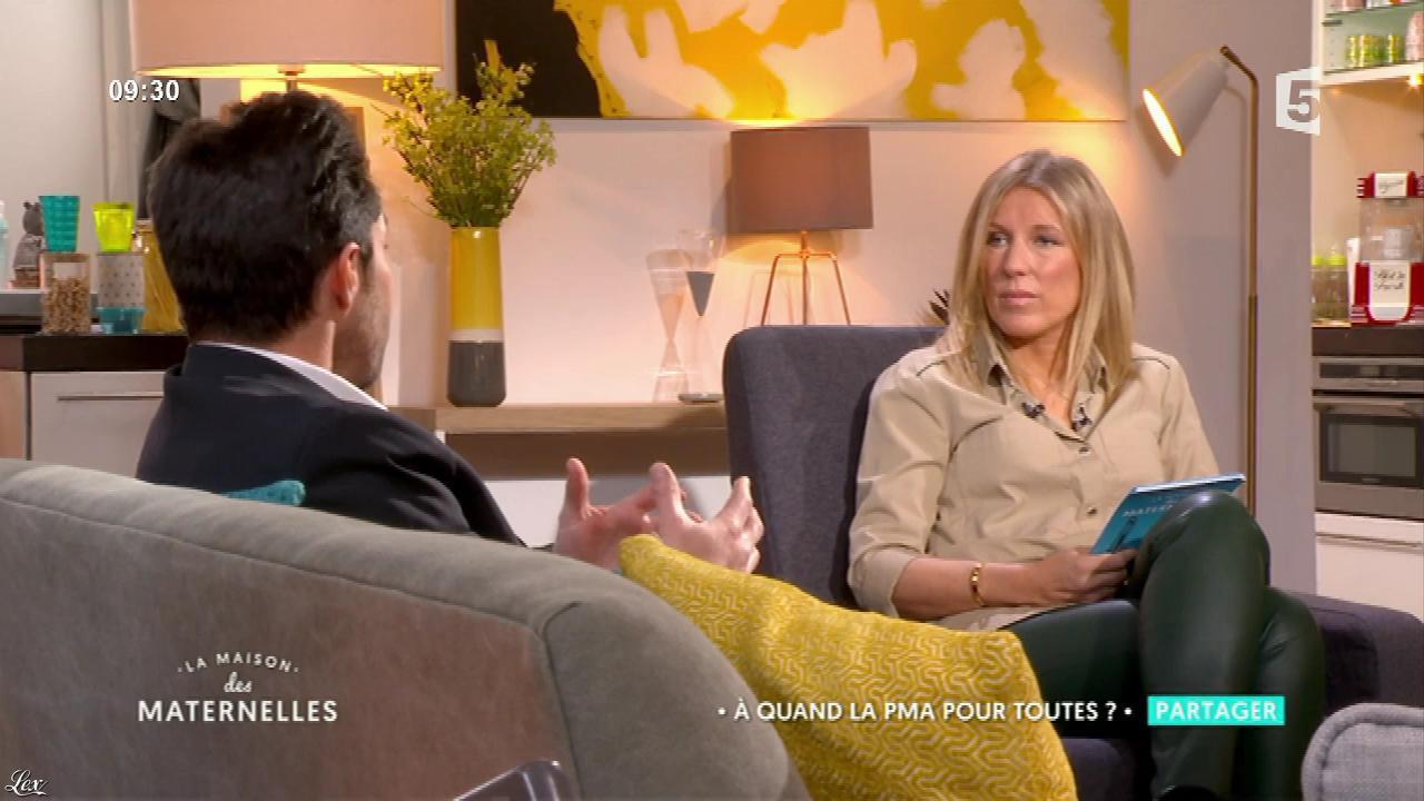 Agathe Lecaron dans la Maison des Maternelles. Diffusé à la télévision le 19/06/17.