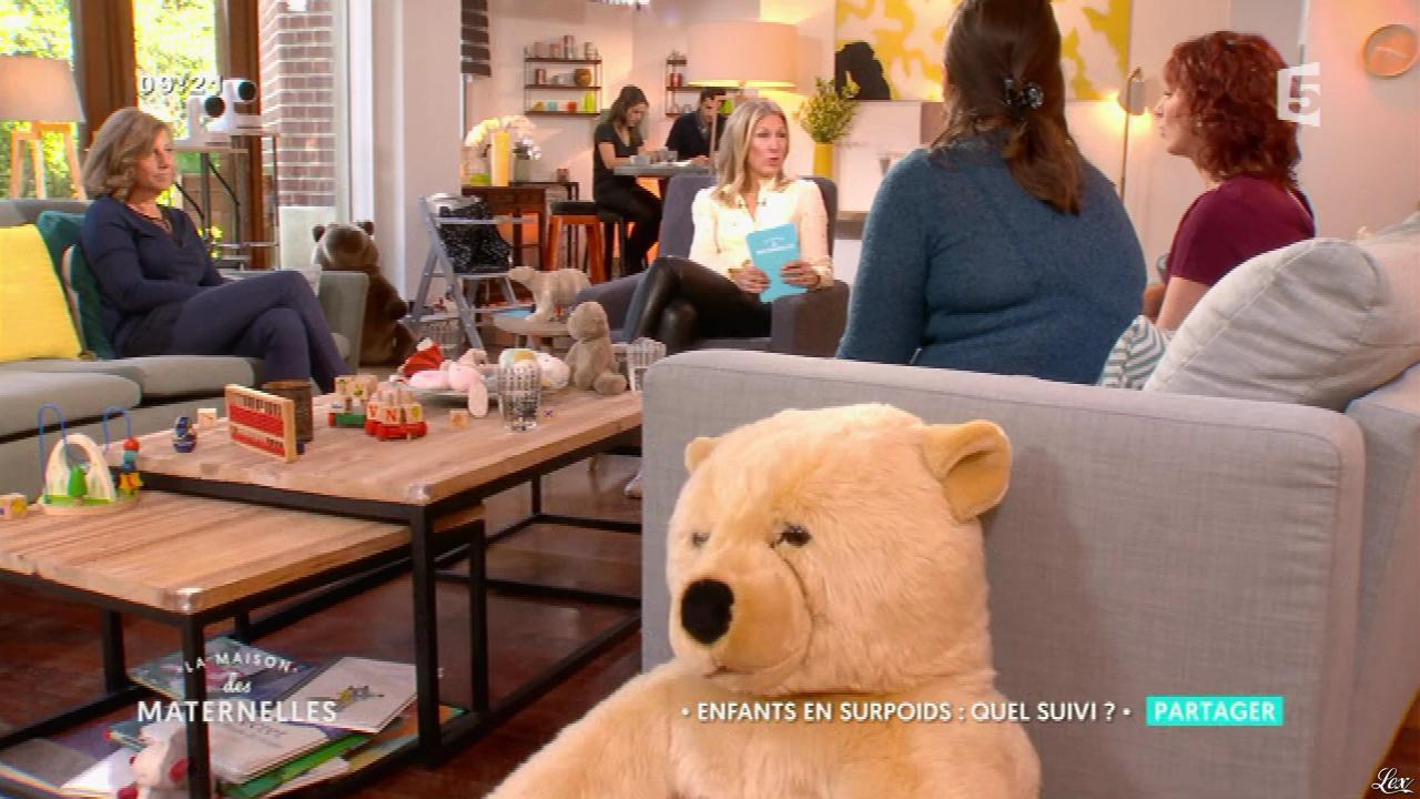 Agathe Lecaron dans la Maison des Maternelles. Diffusé à la télévision le 21/04/17.