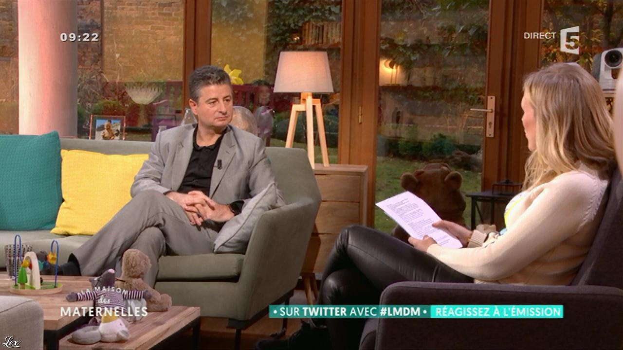 Agathe Lecaron dans la Maison des Maternelles. Diffusé à la télévision le 24/01/17.