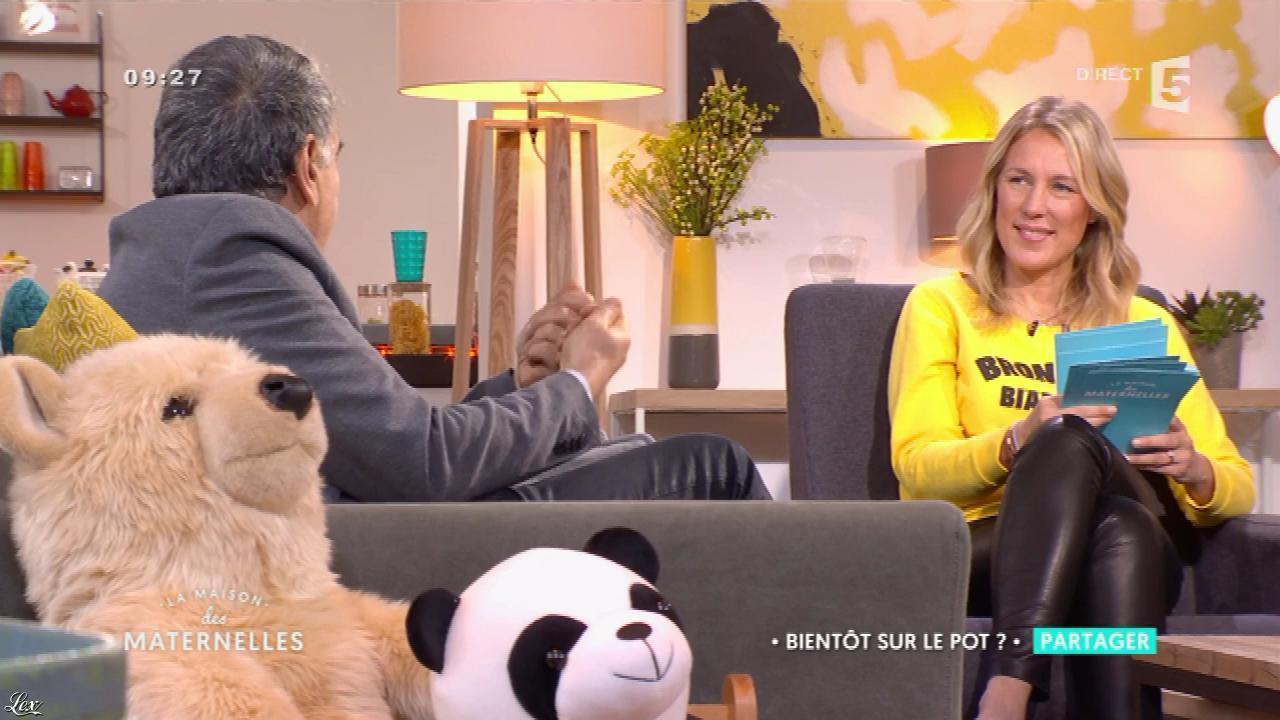Agathe Lecaron dans la Maison des Maternelles. Diffusé à la télévision le 29/03/17.