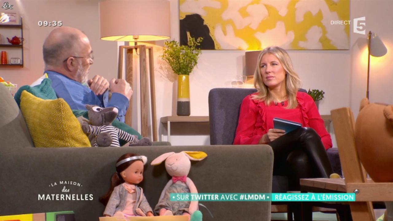 Agathe Lecaron dans la Maison des Maternelles. Diffusé à la télévision le 31/01/17.