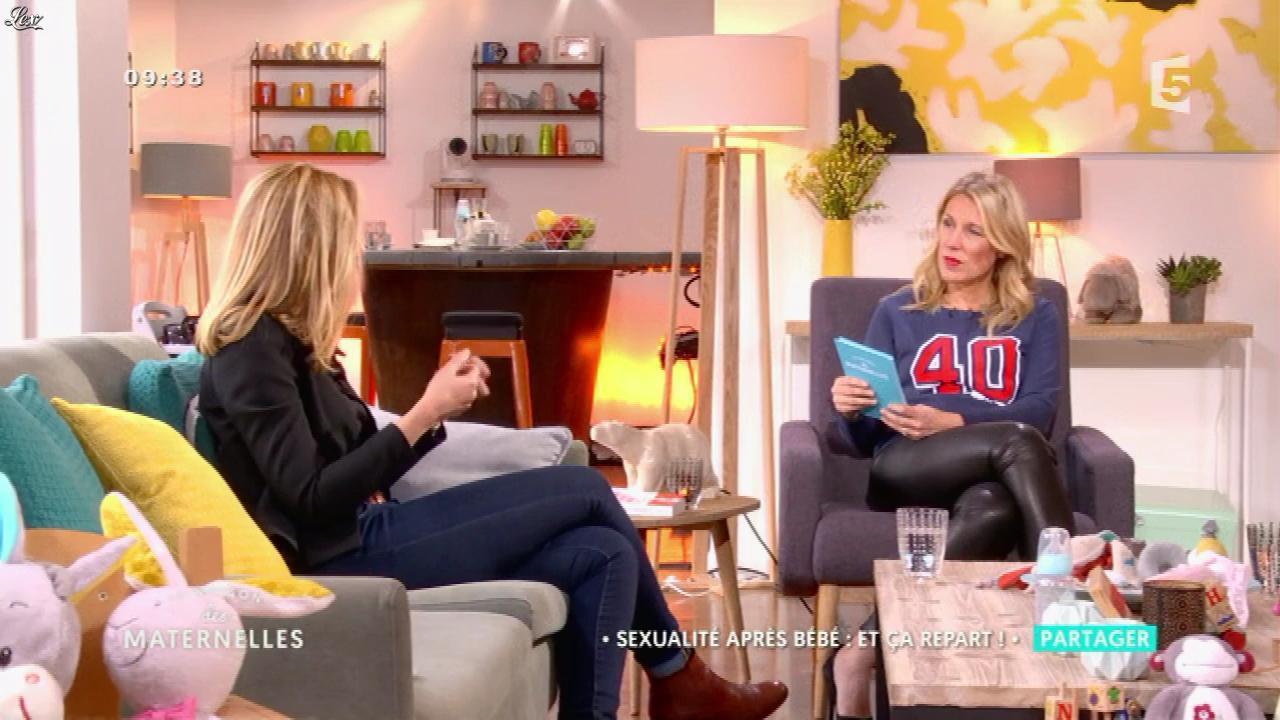 Agathe Lecaron dans la Maison des Maternelles. Diffusé à la télévision le 31/03/17.