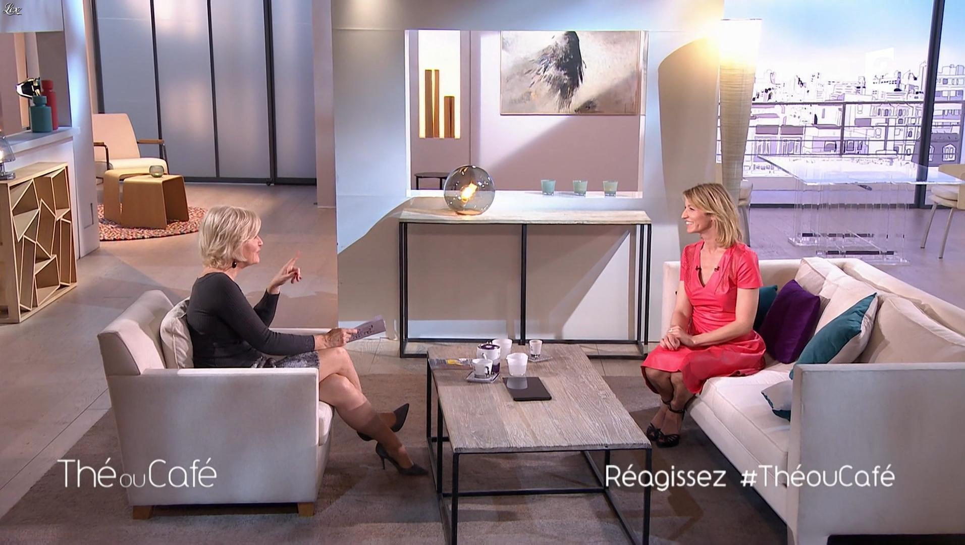 Alexandra Lamy dans The ou Cafe. Diffusé à la télévision le 11/03/17.