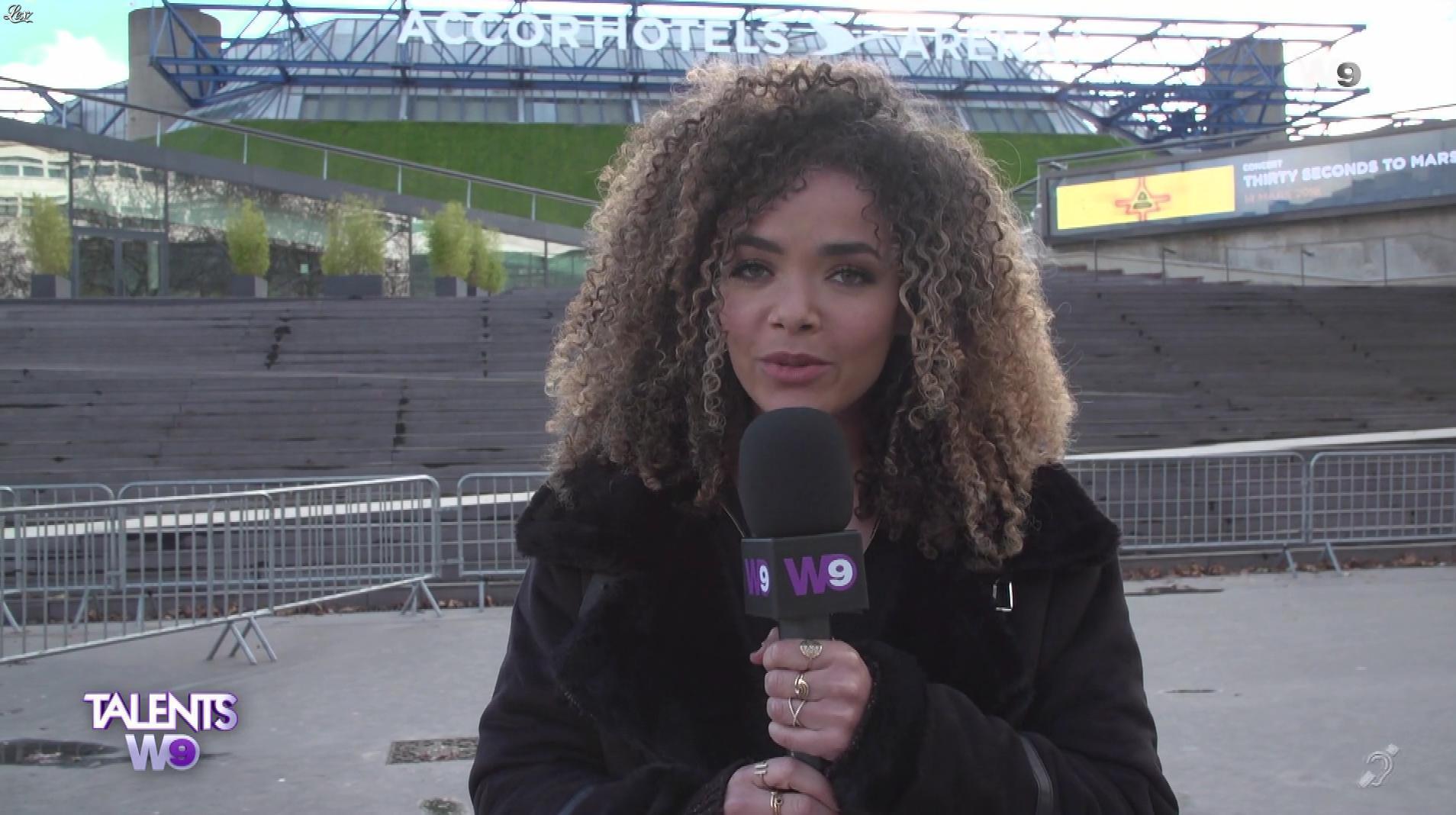 Anaïs Grangerac dans Talents W9. Diffusé à la télévision le 30/12/17.