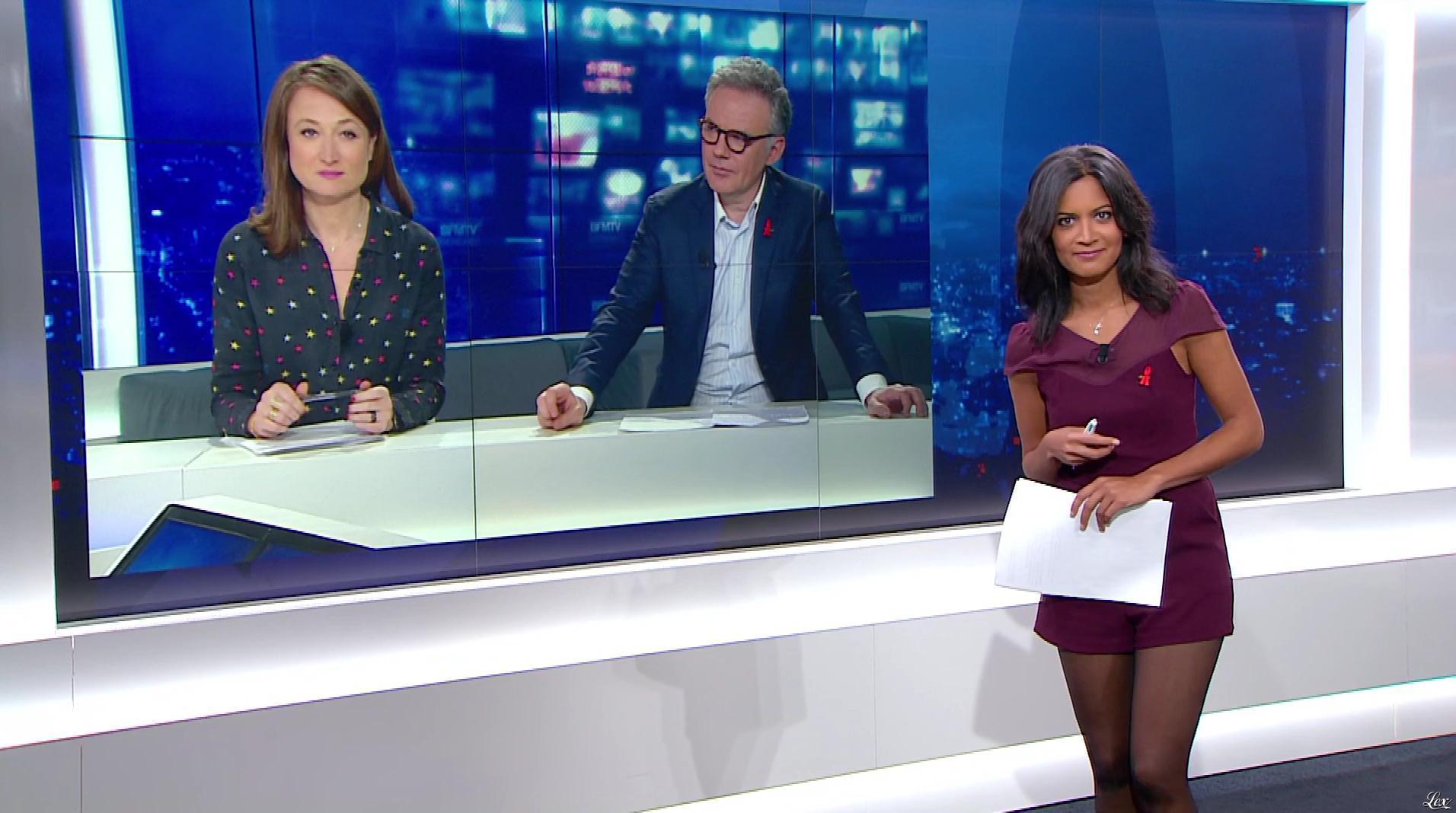 Aurélie Casse dans le 20h. Diffusé à la télévision le 26/03/17.