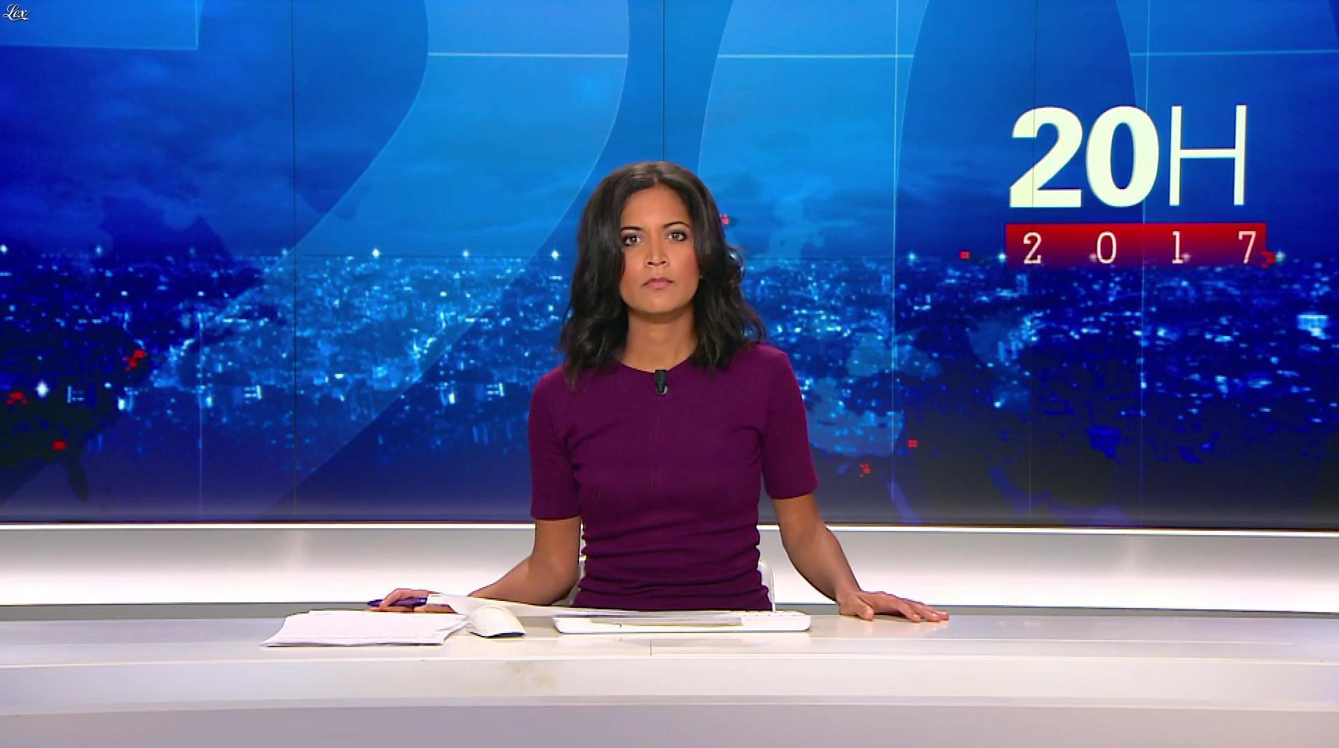 Aurélie Casse au 20h 2017. Diffusé à la télévision le 02/04/17.