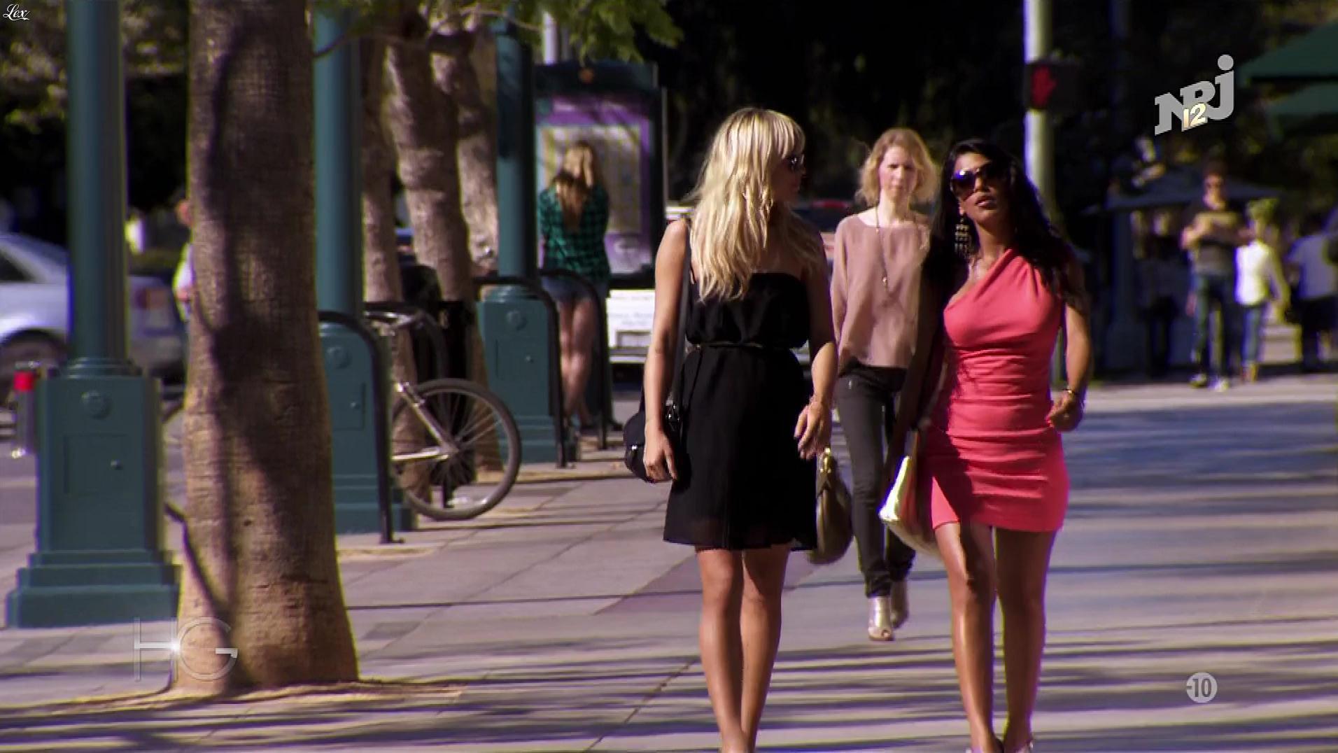Ayem Nour dans Hollywood Girls. Diffusé à la télévision le 22/11/17.