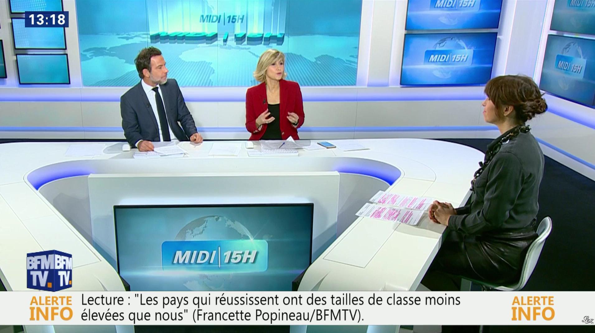 Candice Mahout dans le Midi-15h. Diffusé à la télévision le 05/12/17.