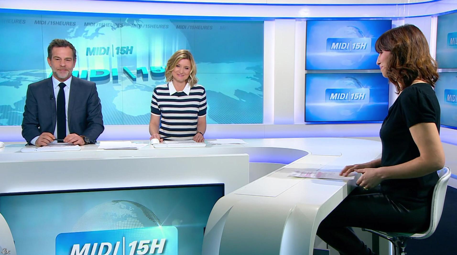 Candice Mahout dans le Midi-15h. Diffusé à la télévision le 12/01/18.