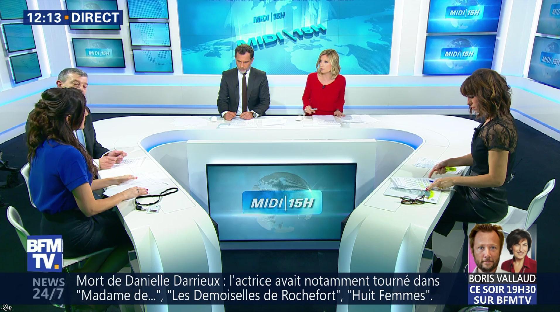 Candice Mahout dans le Midi-15h. Diffusé à la télévision le 19/10/17.