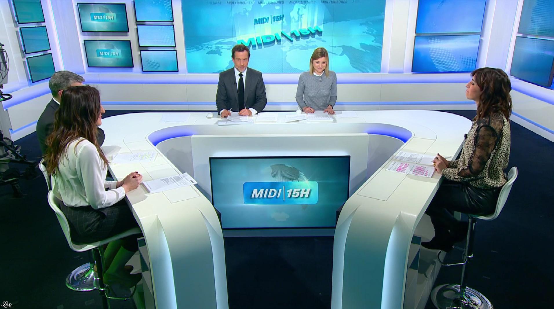 Candice Mahout dans le Midi-15h. Diffusé à la télévision le 19/12/17.