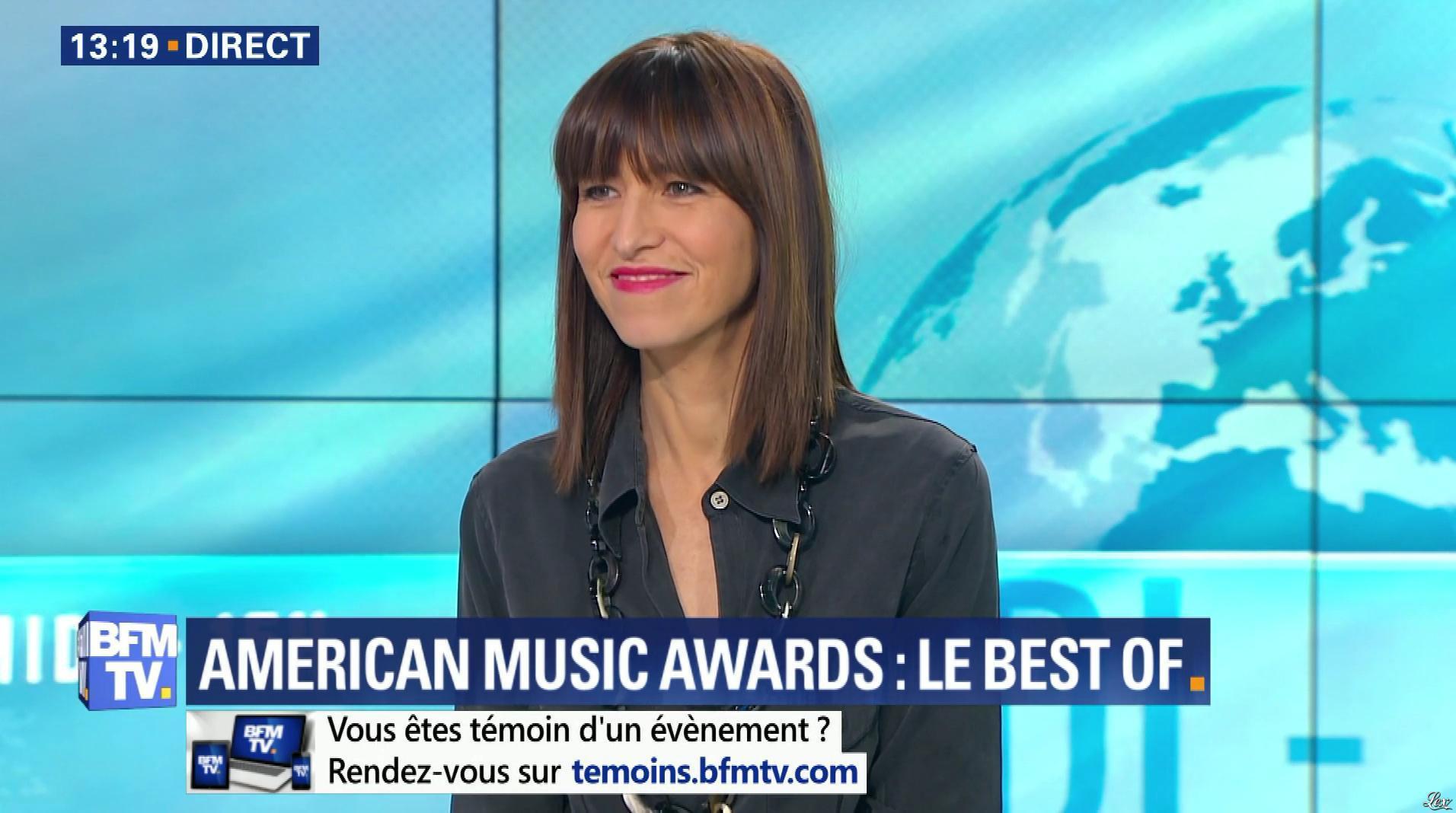 Candice Mahout dans le Midi-15h. Diffusé à la télévision le 20/11/17.