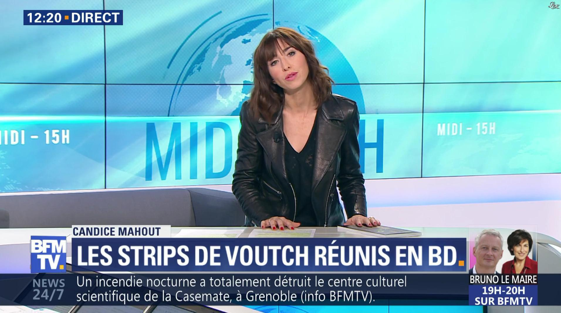 Candice Mahout dans le Midi-15h. Diffusé à la télévision le 21/11/17.