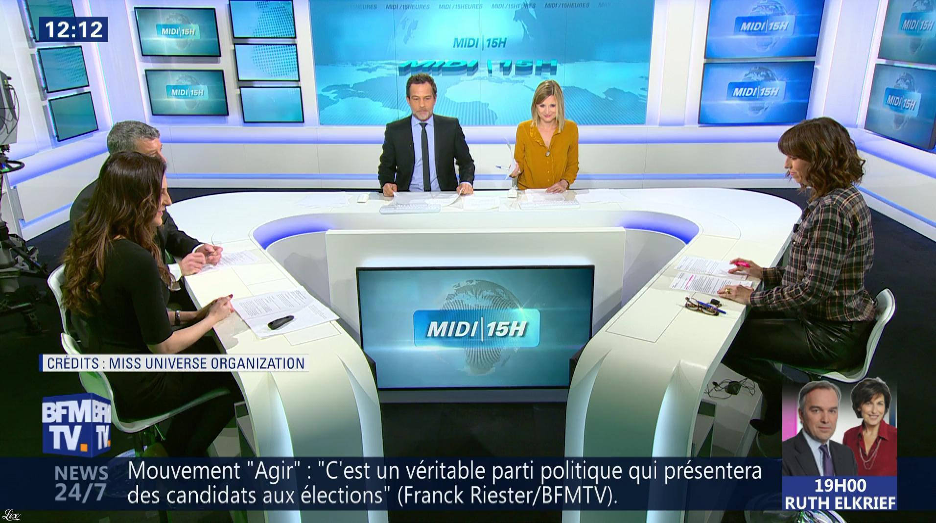 Candice Mahout dans le Midi-15h. Diffusé à la télévision le 27/11/17.