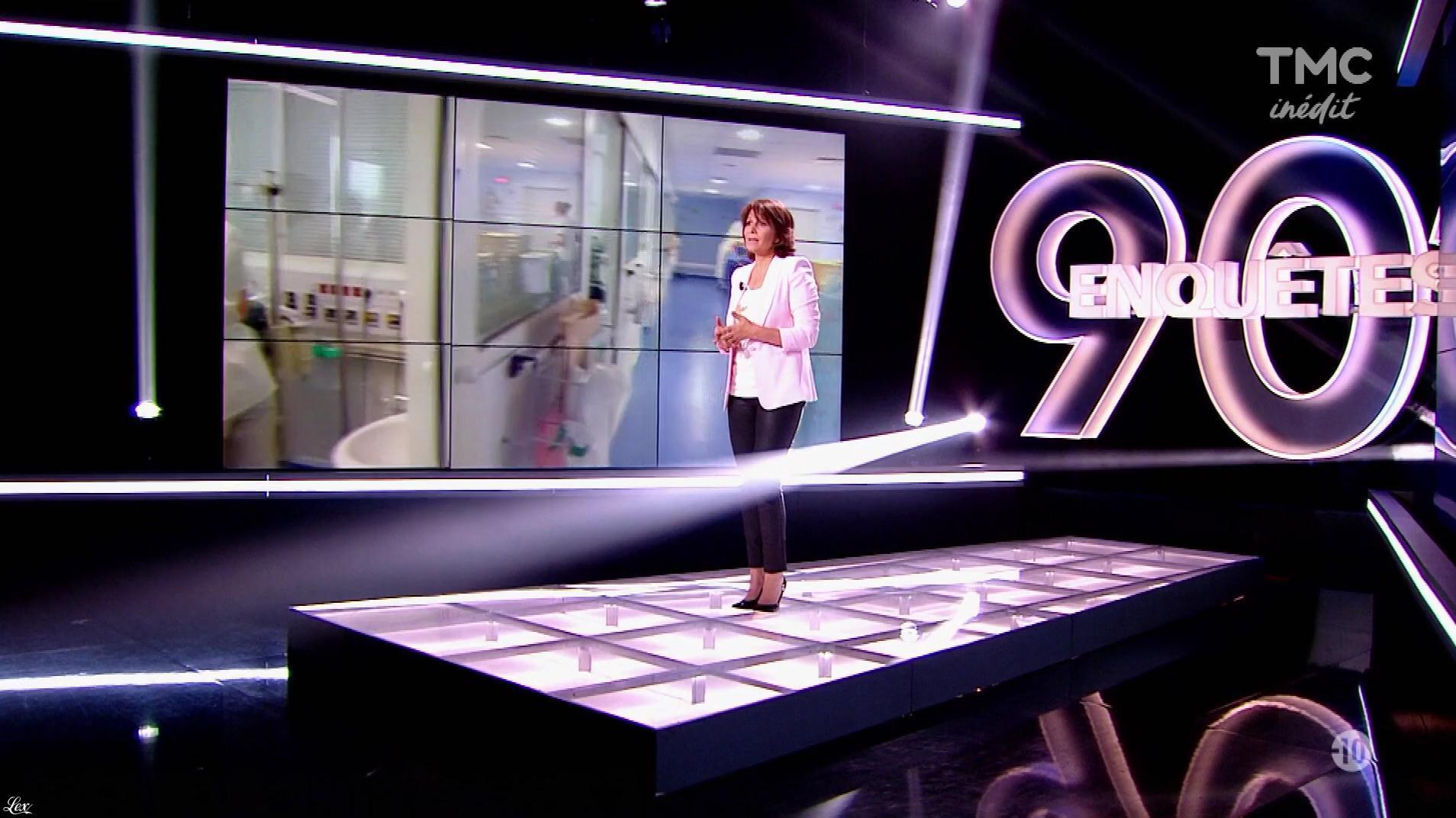 Carole Rousseau dans 90 Minutes Enquêtes. Diffusé à la télévision le 25/10/17.