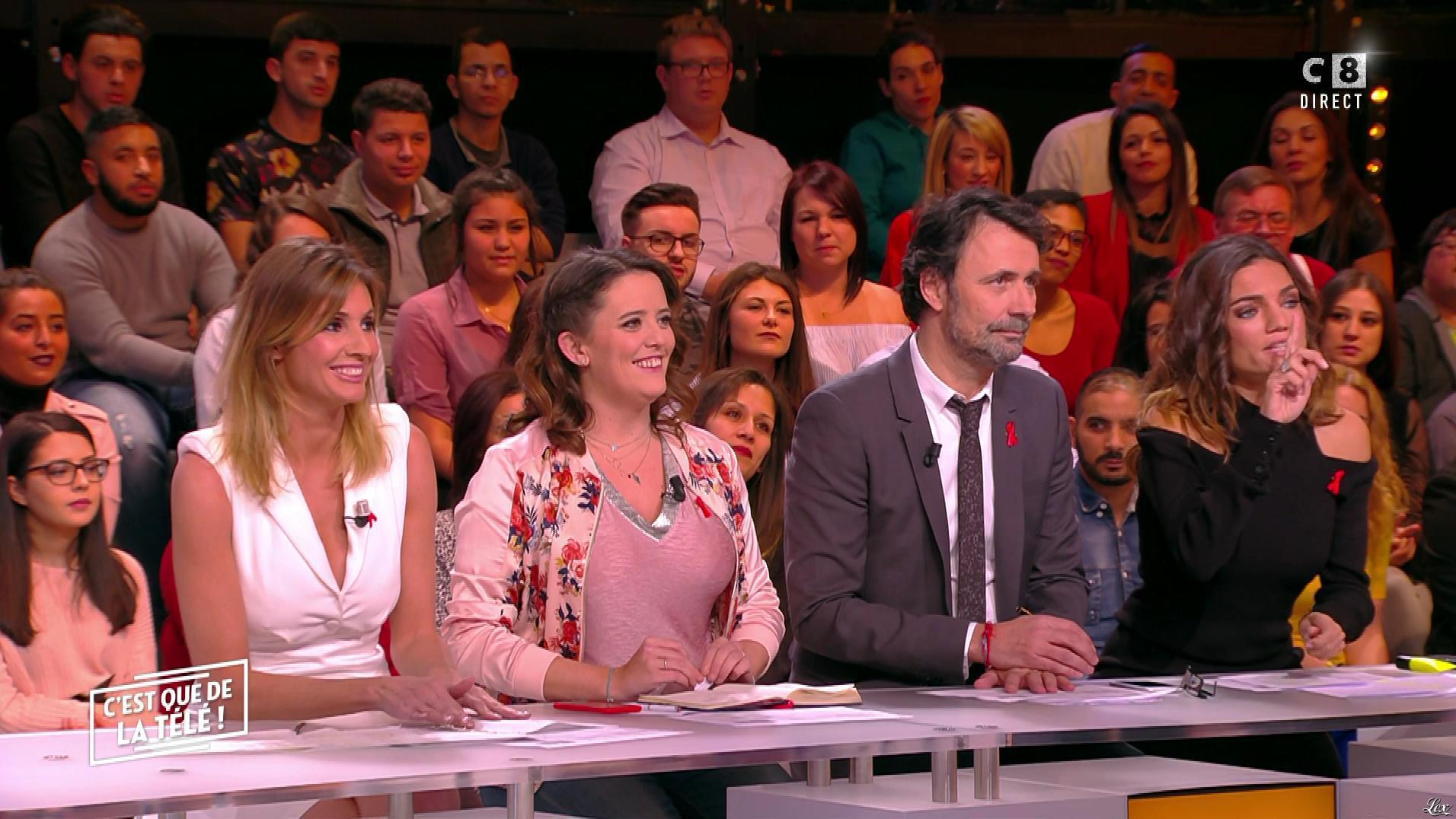 Caroline Ithurbide dans c'est Que de la Télé. Diffusé à la télévision le 01/12/17.