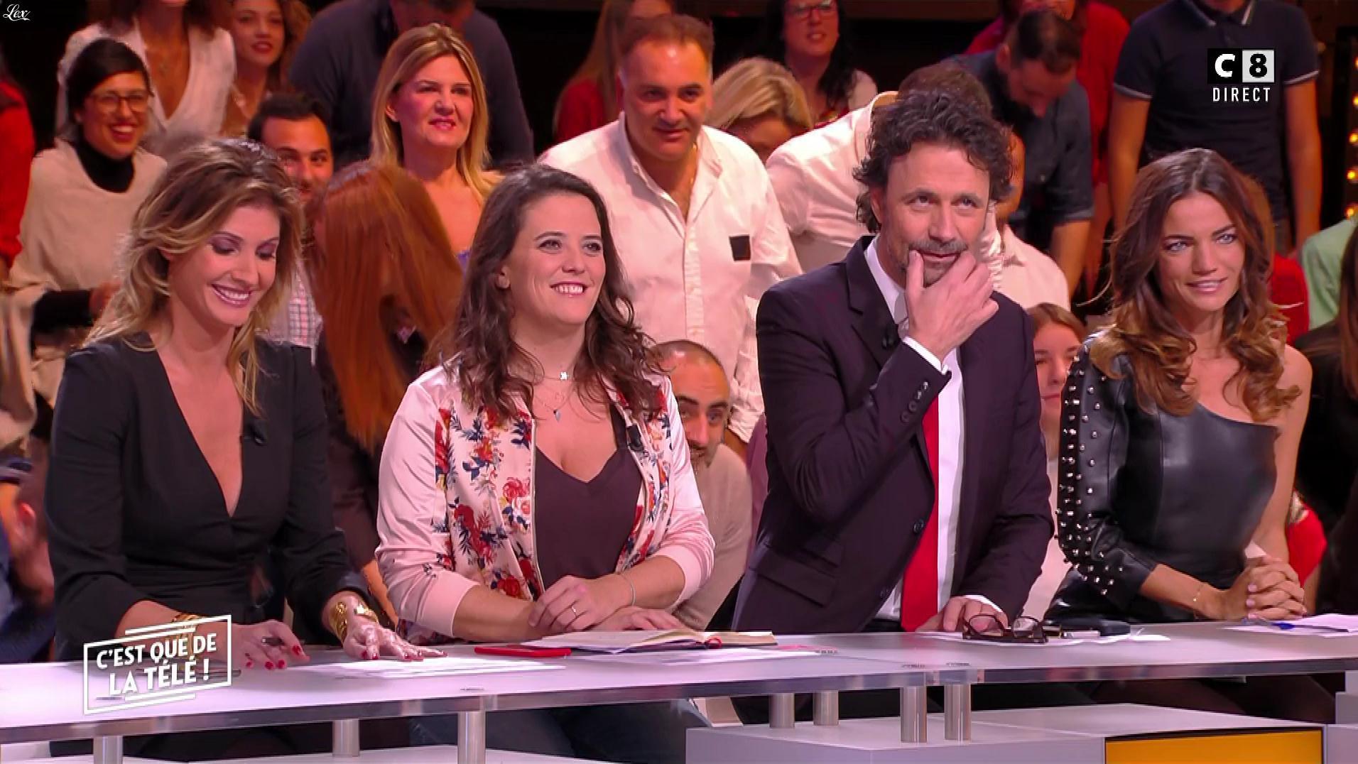 Caroline Ithurbide et FrancesÇa Antoniotti dans c'est Que de la Télé. Diffusé à la télévision le 15/11/17.