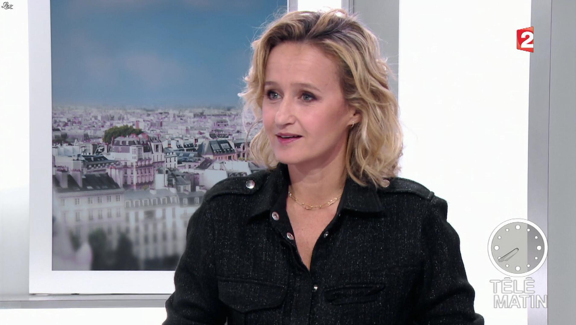 Caroline Roux dans les 4 Vérités. Diffusé à la télévision le 23/11/17.