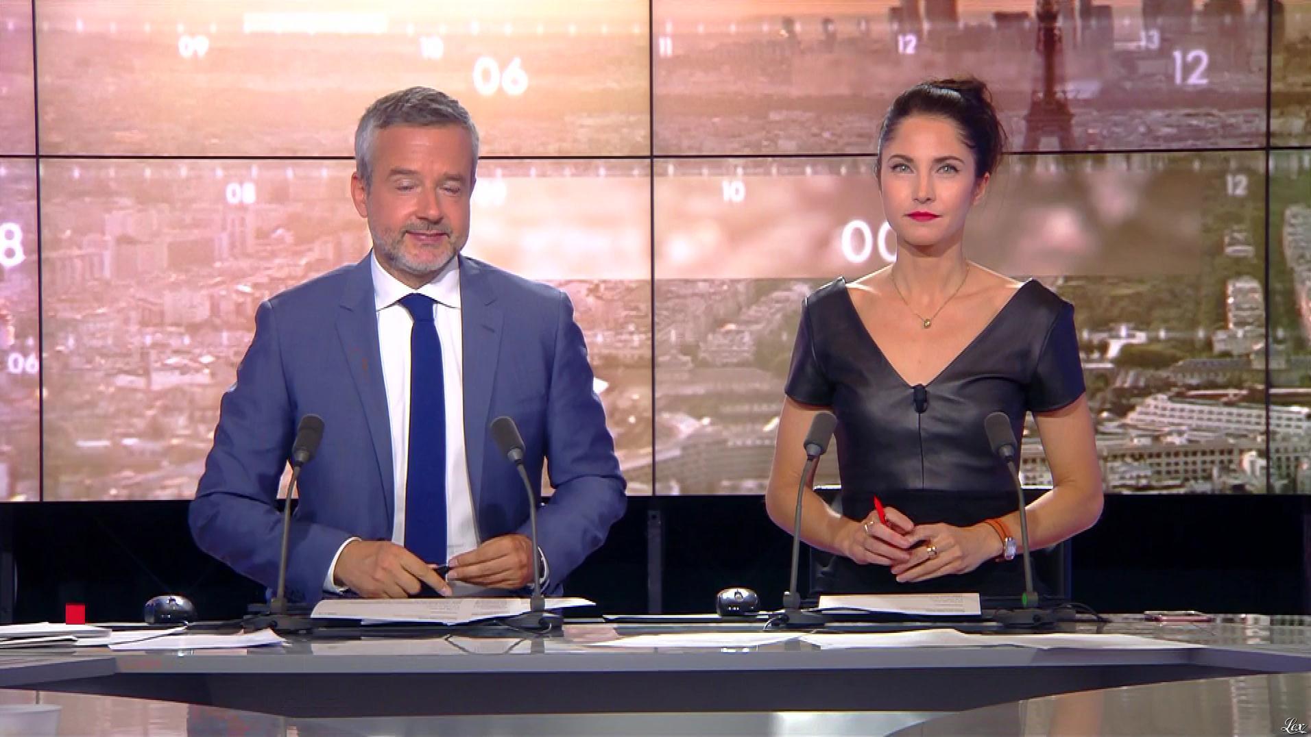 Clelie Mathias dans la Matinale de C News. Diffusé à la télévision le 13/09/17.