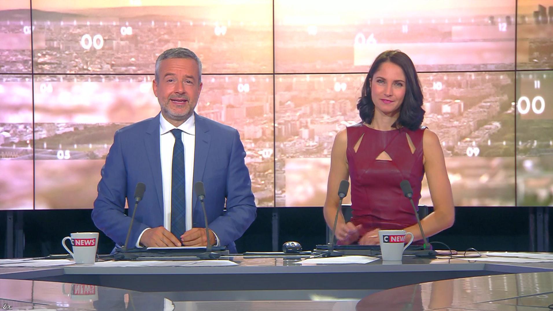 Clélie Mathias dans la Matinale de C News. Diffusé à la télévision le 21/09/17.