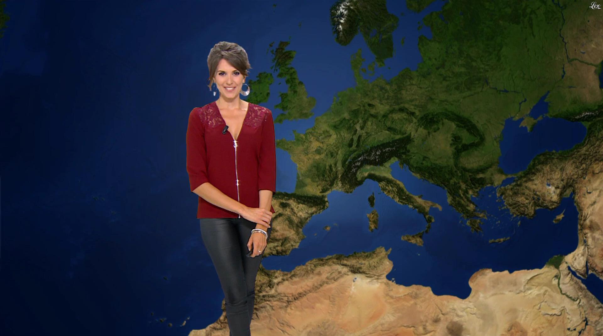 Fanny Agostini à la Météo de BFM TV. Diffusé à la télévision le 06/06/17.