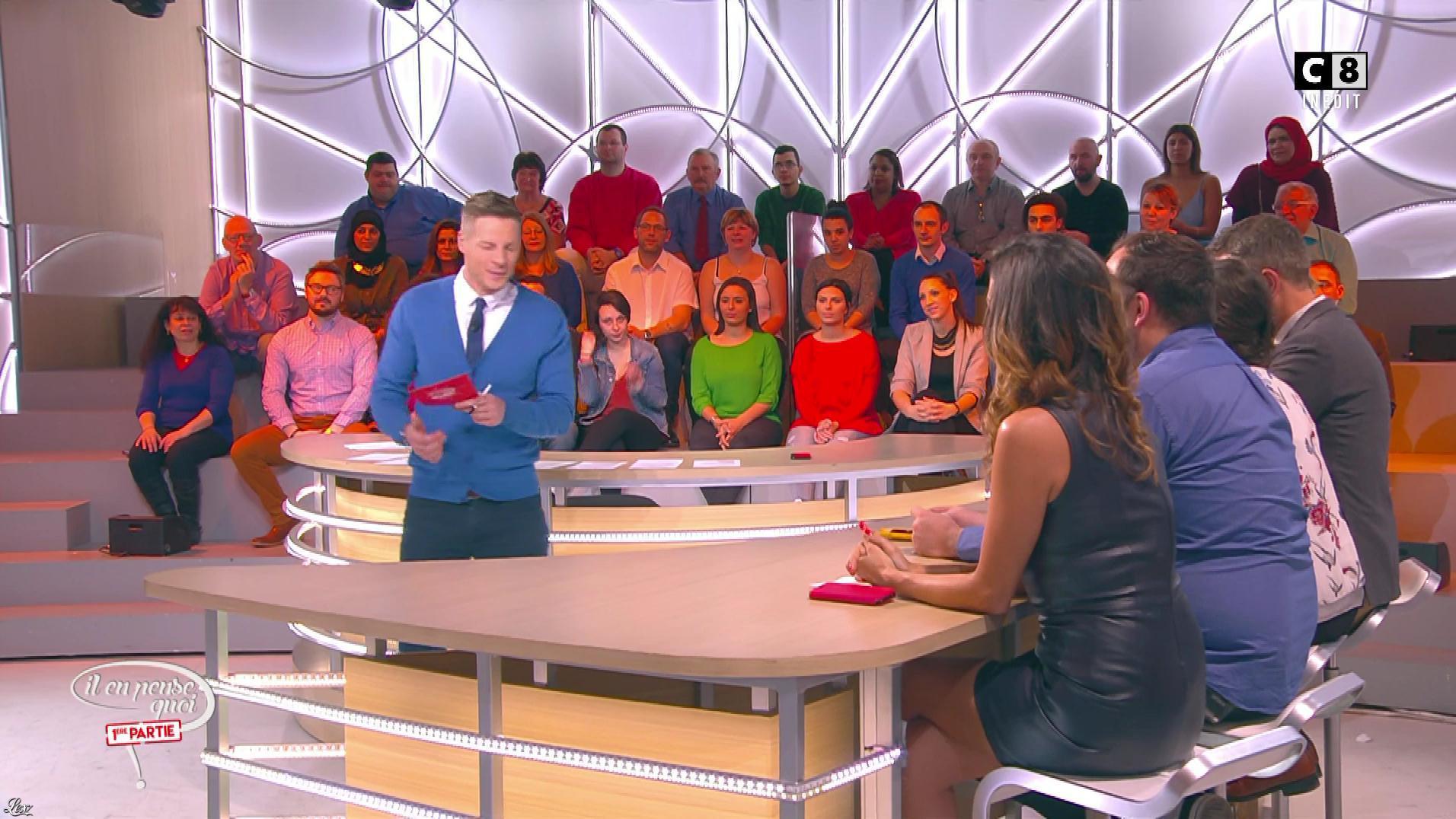 FrancesÇa Antoniotti dans Il en Pense Quoi Matthieu. Diffusé à la télévision le 10/03/17.