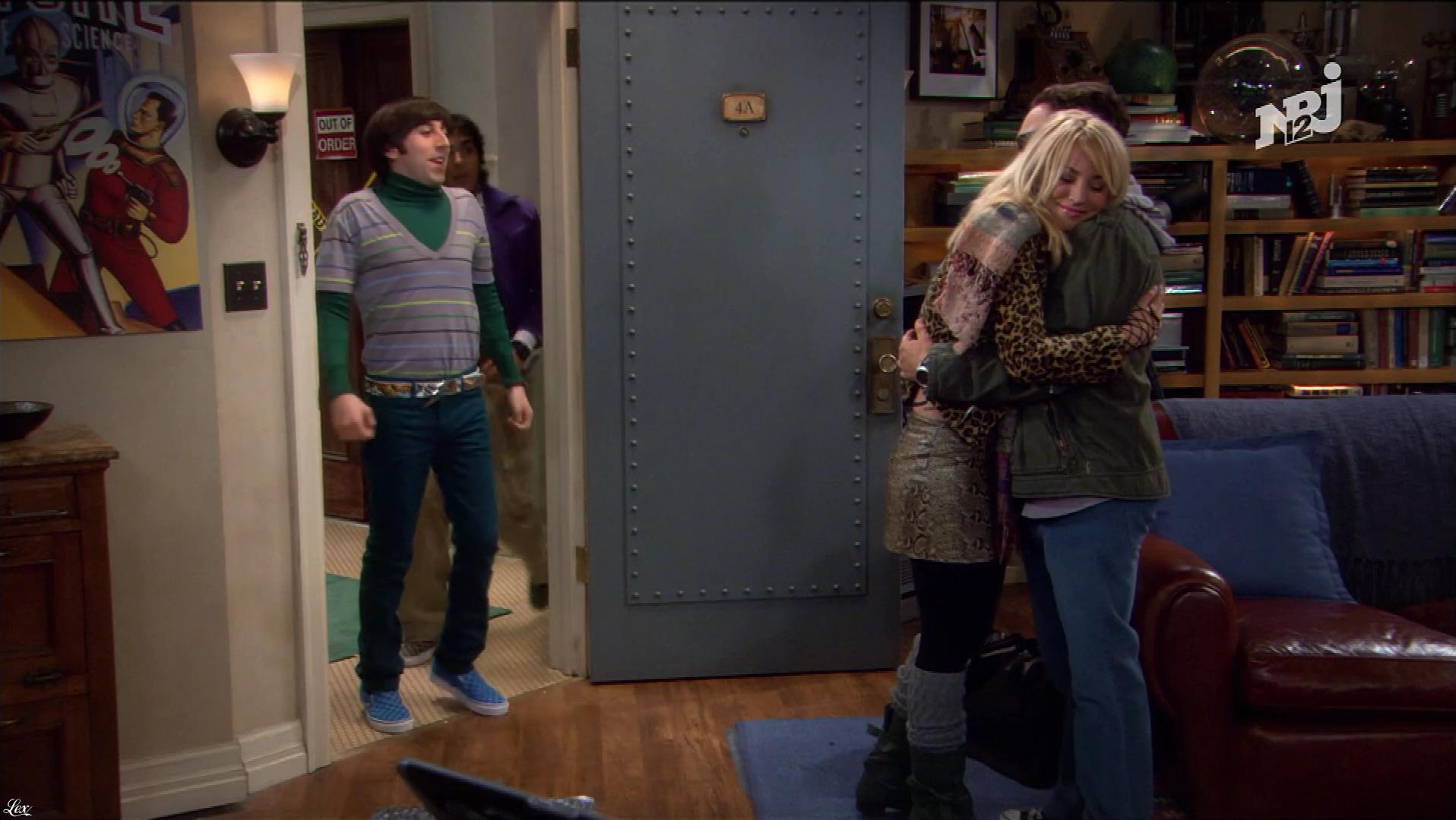Kaley Cuoco dans The Big Bang Theory. Diffusé à la télévision le 25/11/17.