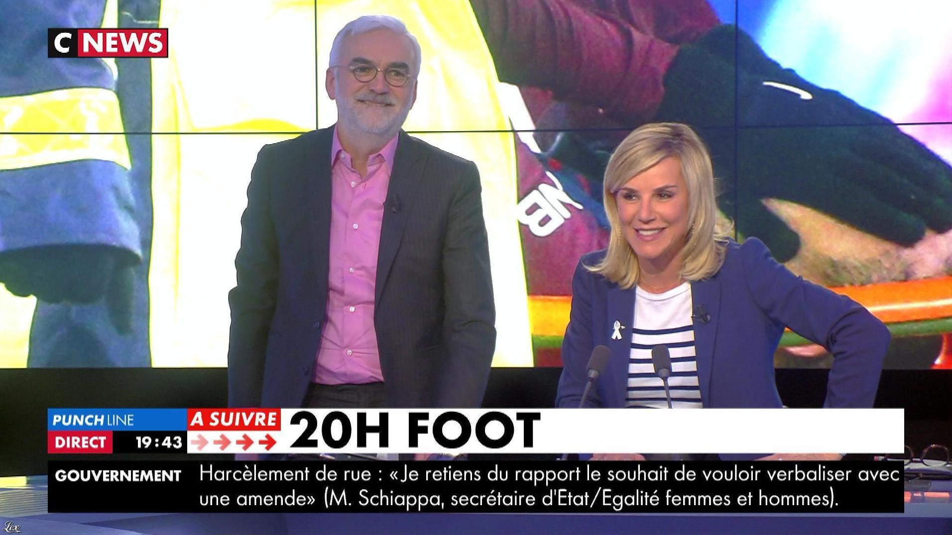 Laurence Ferrari dans Punchline. Diffusé à la télévision le 28/02/18.