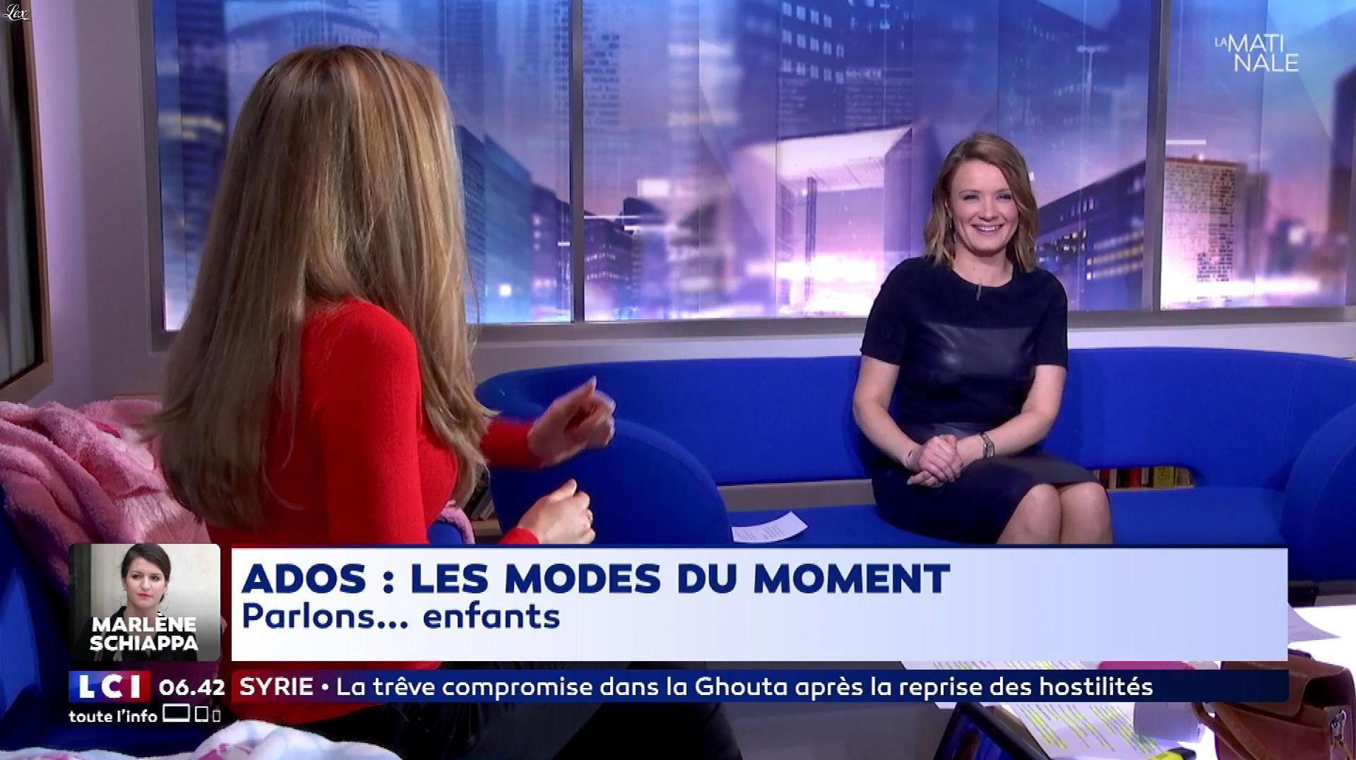 Pascale De La Tour Du Pin dans la Matinale 28/02/18 09