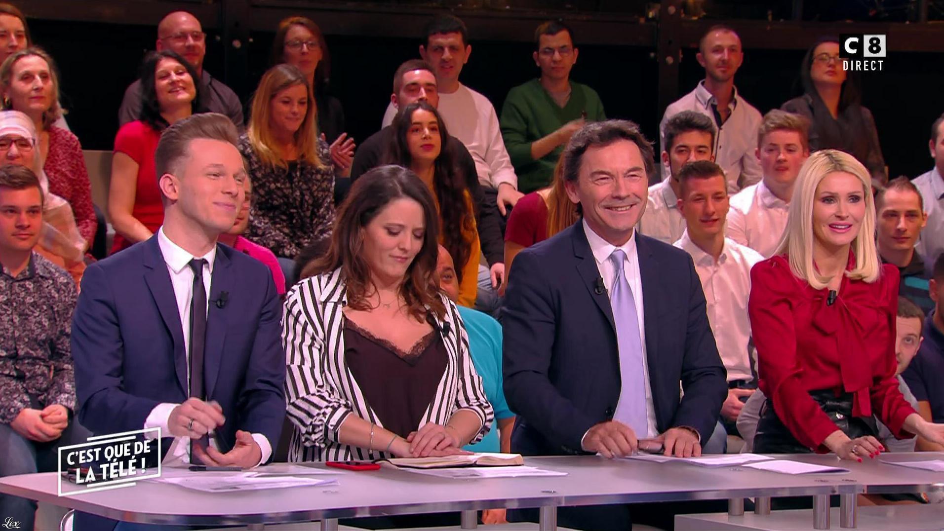 Tatiana Laurens Delarue dans c'est Que de la Télé. Diffusé à la télévision le 02/03/18.