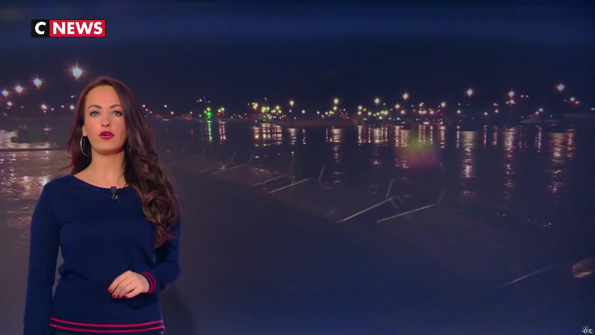 Alexandra Blanc dans la Matinale. Diffusé à la télévision le 04/03/19.