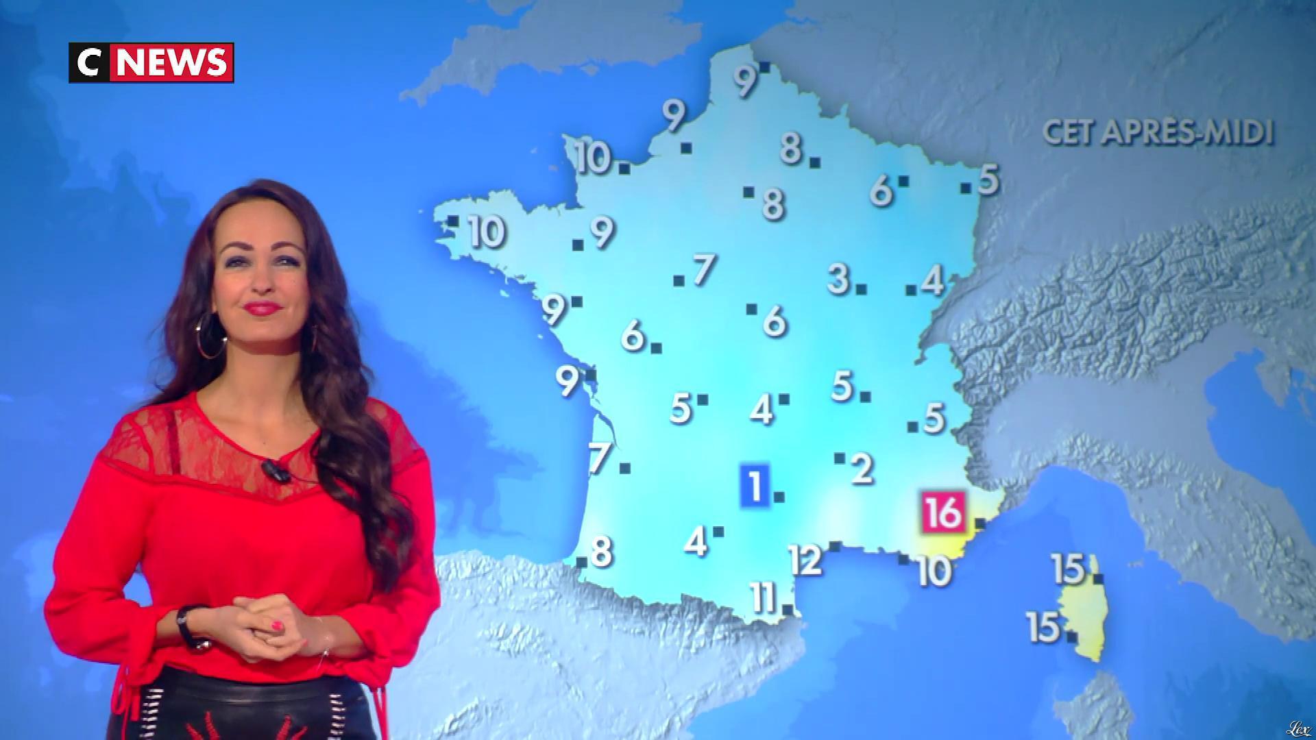 Alexandra Blanc dans la Matinale. Diffusé à la télévision le 07/01/19.