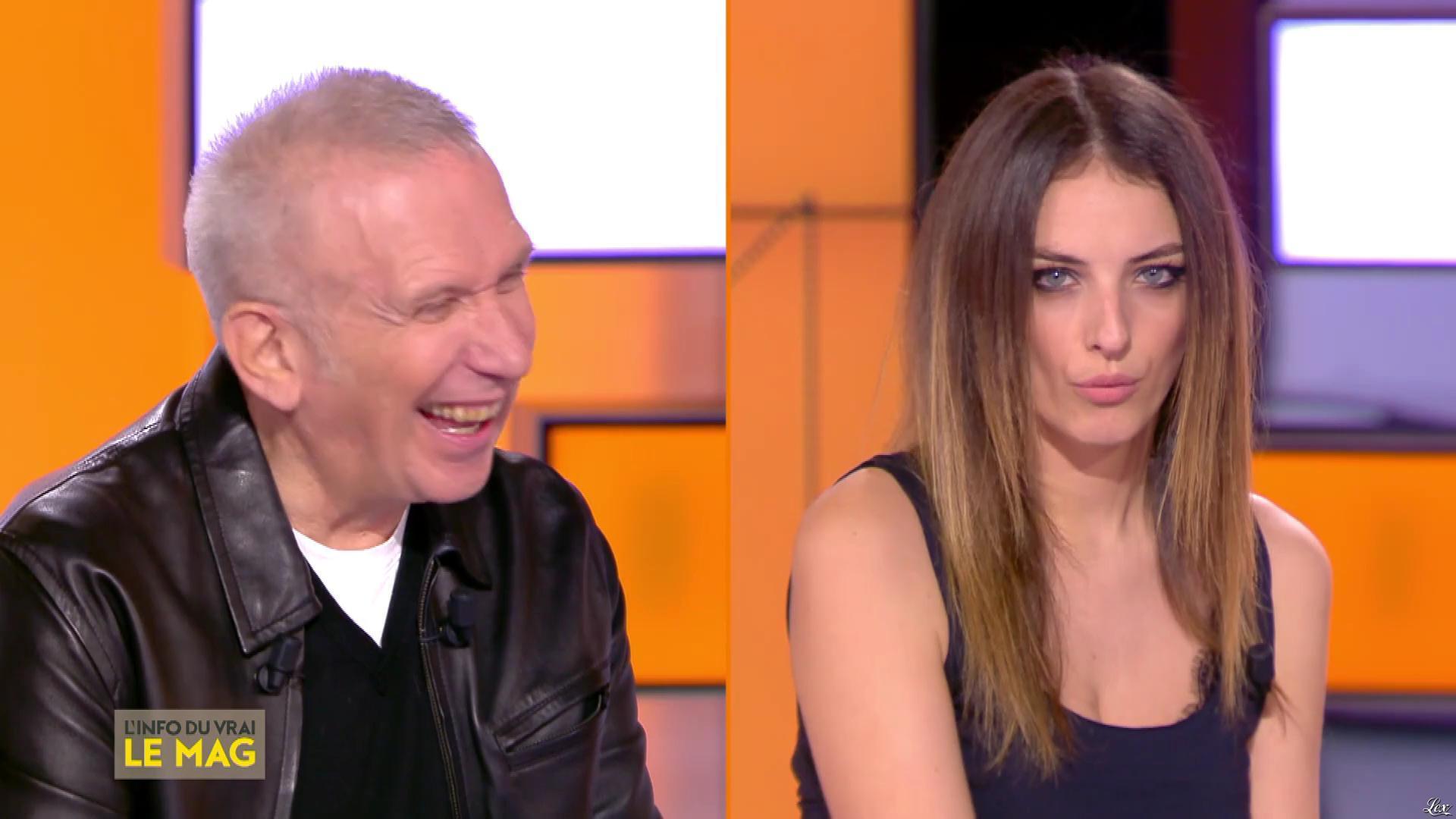 Camille Lavabre dans l'Info du Vrai le Mag. Diffusé à la télévision le 09/01/19.