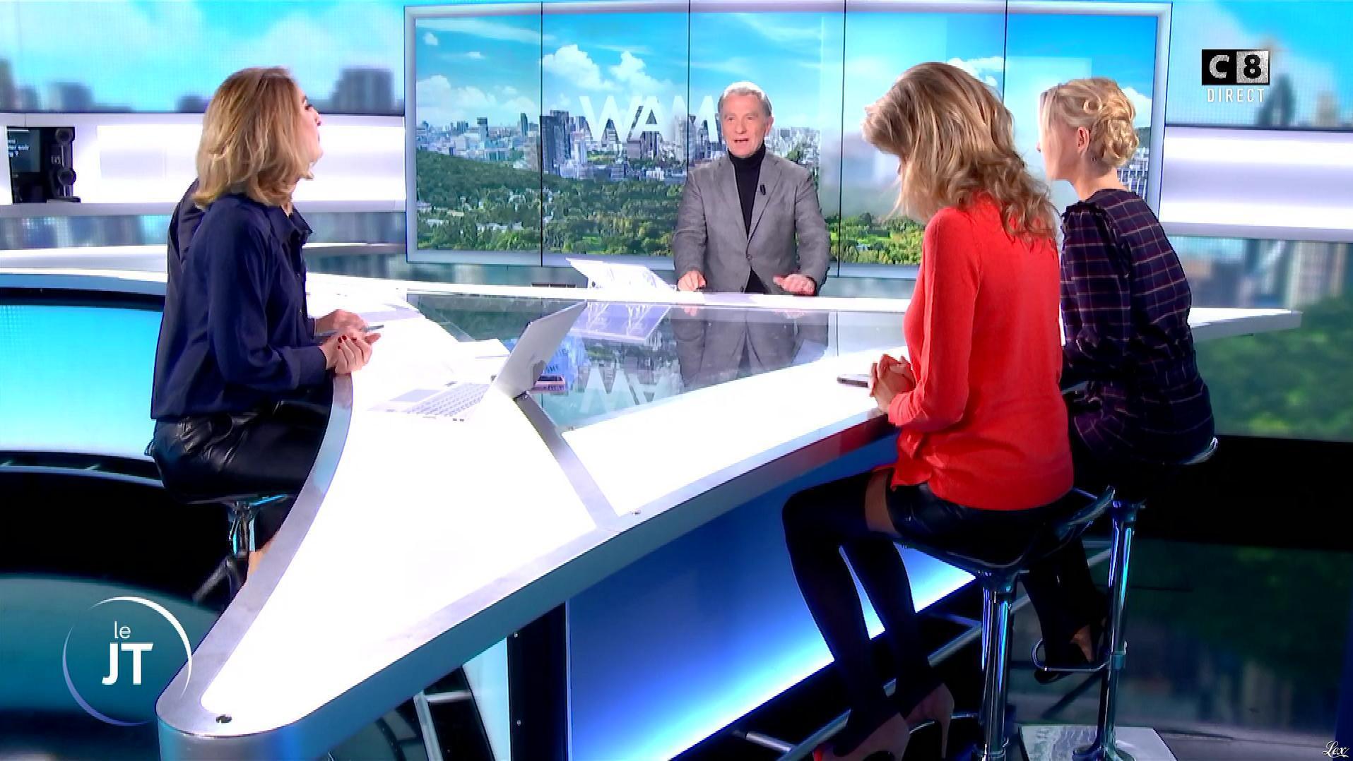 Caroline Delage et Rachel Bourlier dans William à Midi. Diffusé à la télévision le 14/12/18.