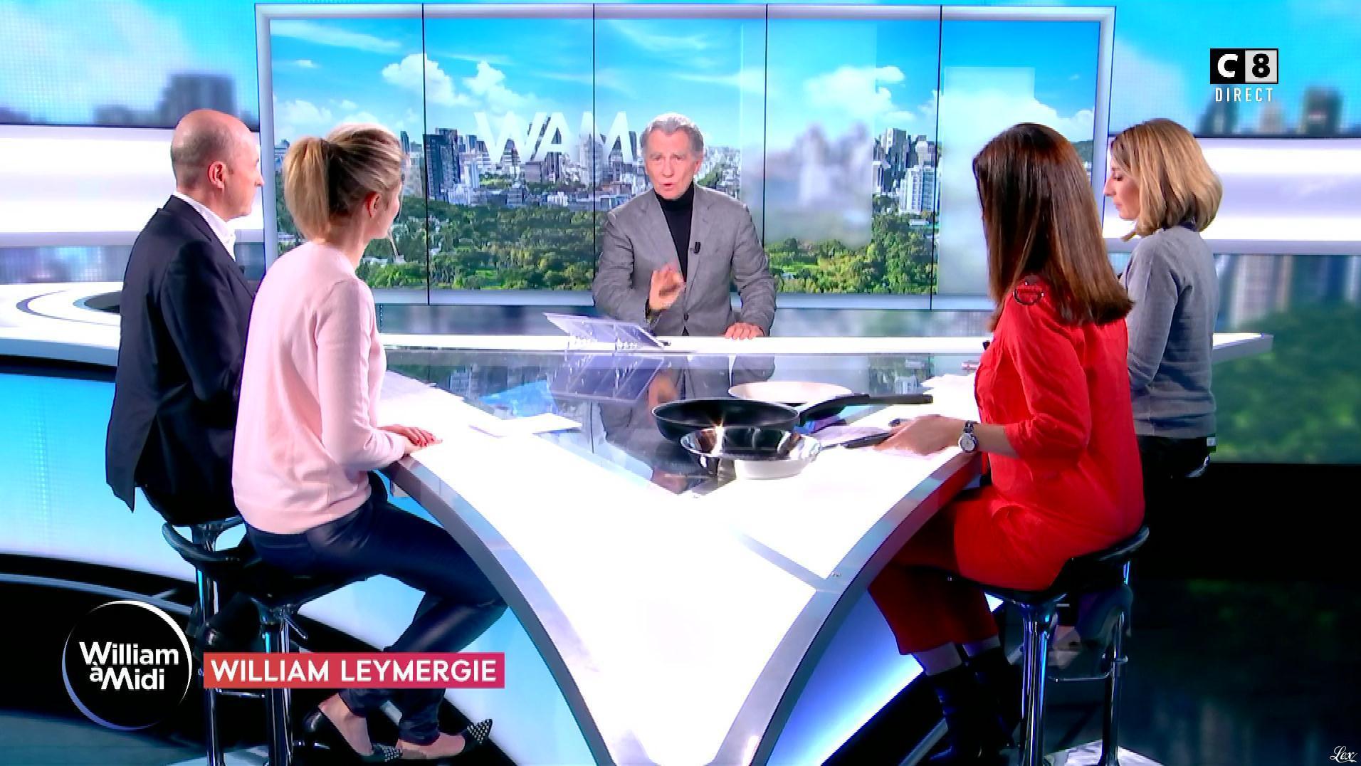 Caroline Delage et Sandrine Arcizet dans William à Midi. Diffusé à la télévision le 05/02/19.
