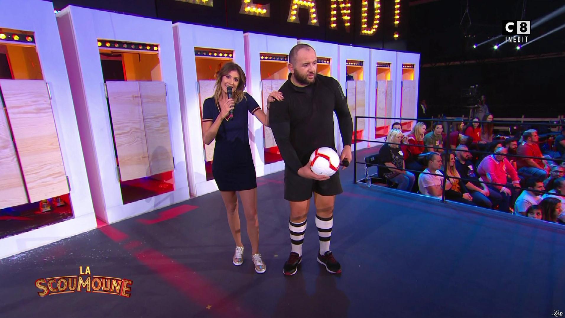 Caroline Ithurbide dans la Scoumoune. Diffusé à la télévision le 22/01/19.