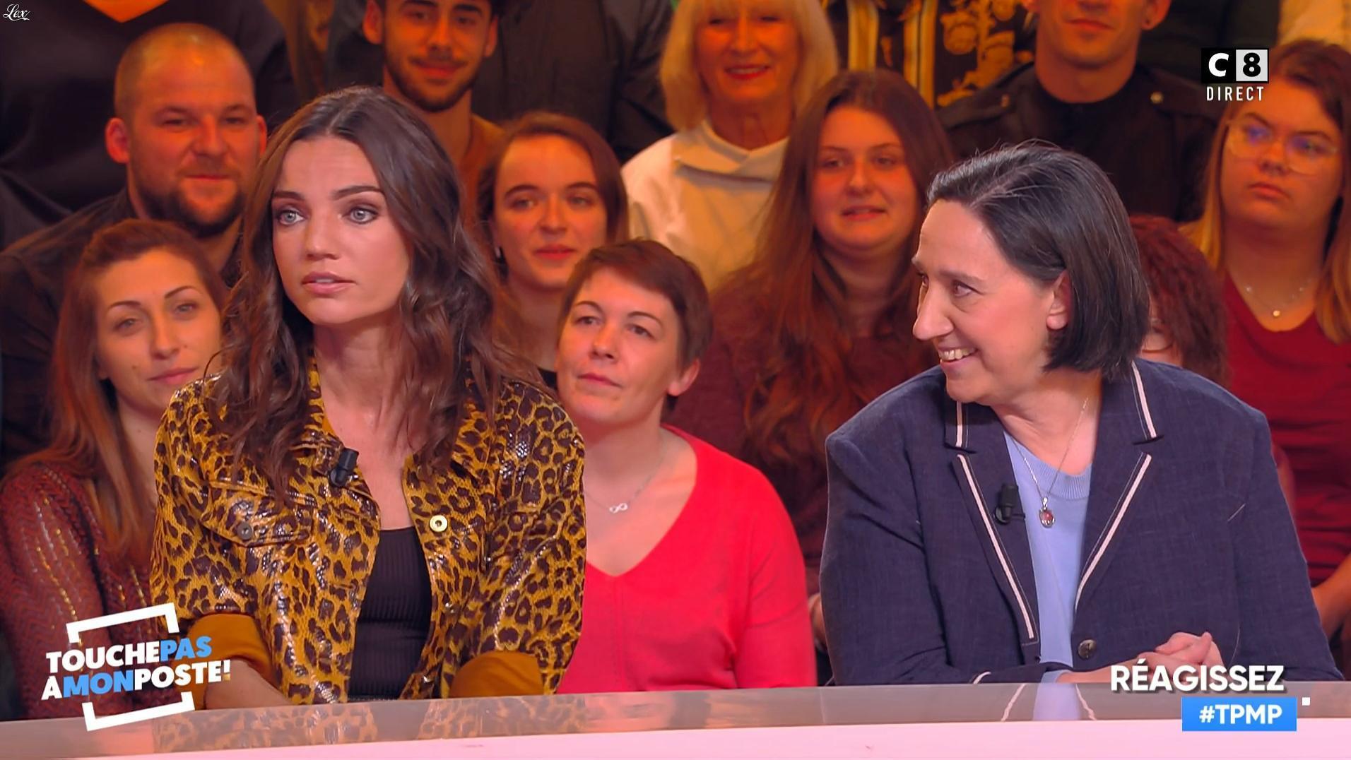 FrancesÇa Antoniotti dans Touche pas à mon Poste. Diffusé à la télévision le 14/01/19.