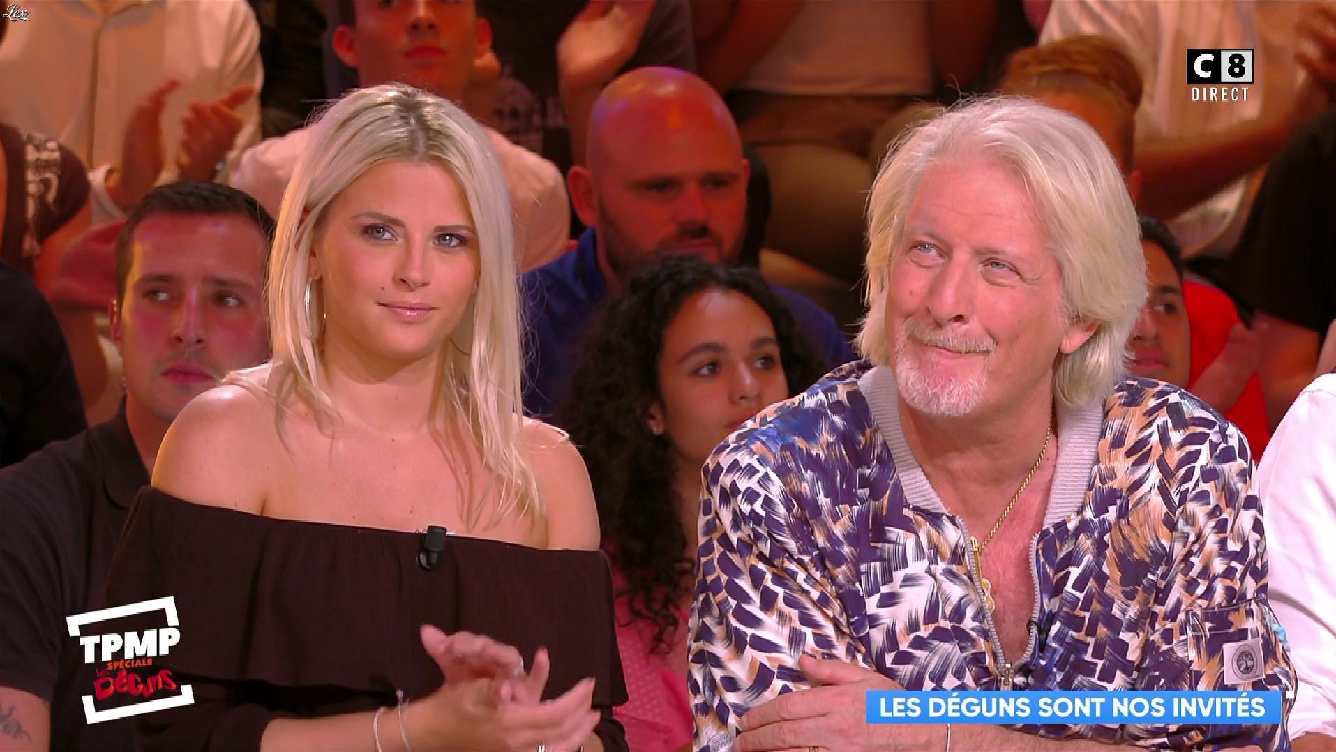 Kelly Vedovelli dans Touche pas à mon Poste. Diffusé à la télévision le 06/09/18.