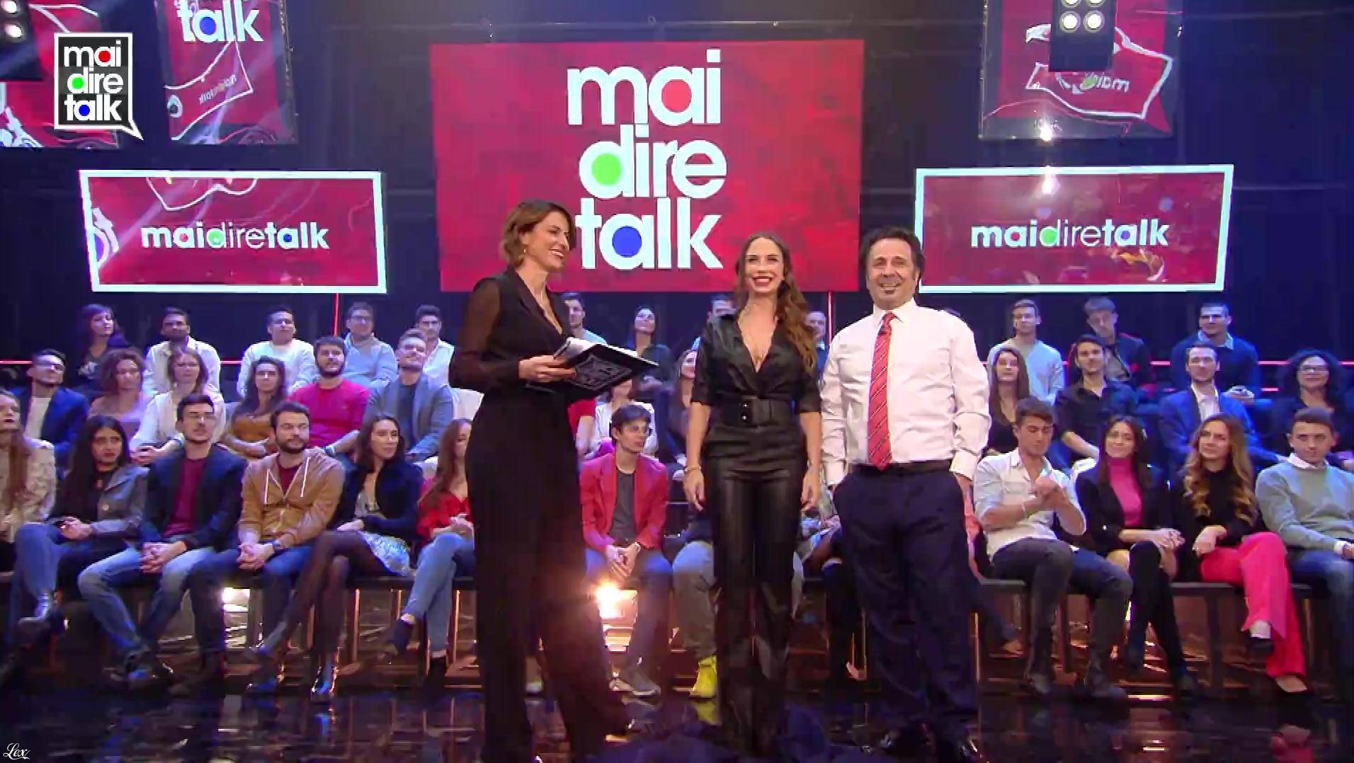 Malena dans Mai Dire Talk. Diffusé à la télévision le 10/01/19.