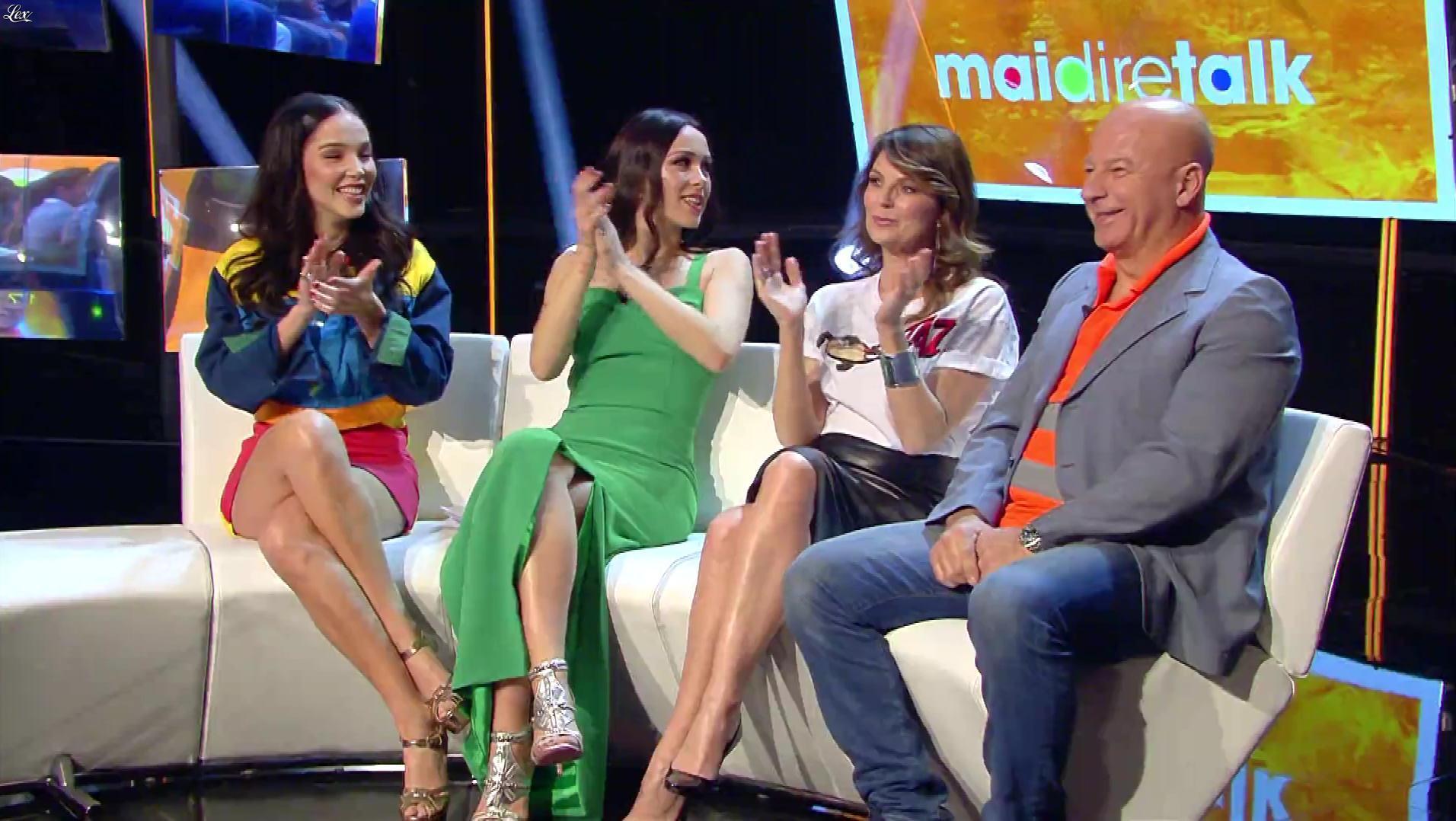 Marina La Rosa dans Mai Dire Talk. Diffusé à la télévision le 10/01/19.
