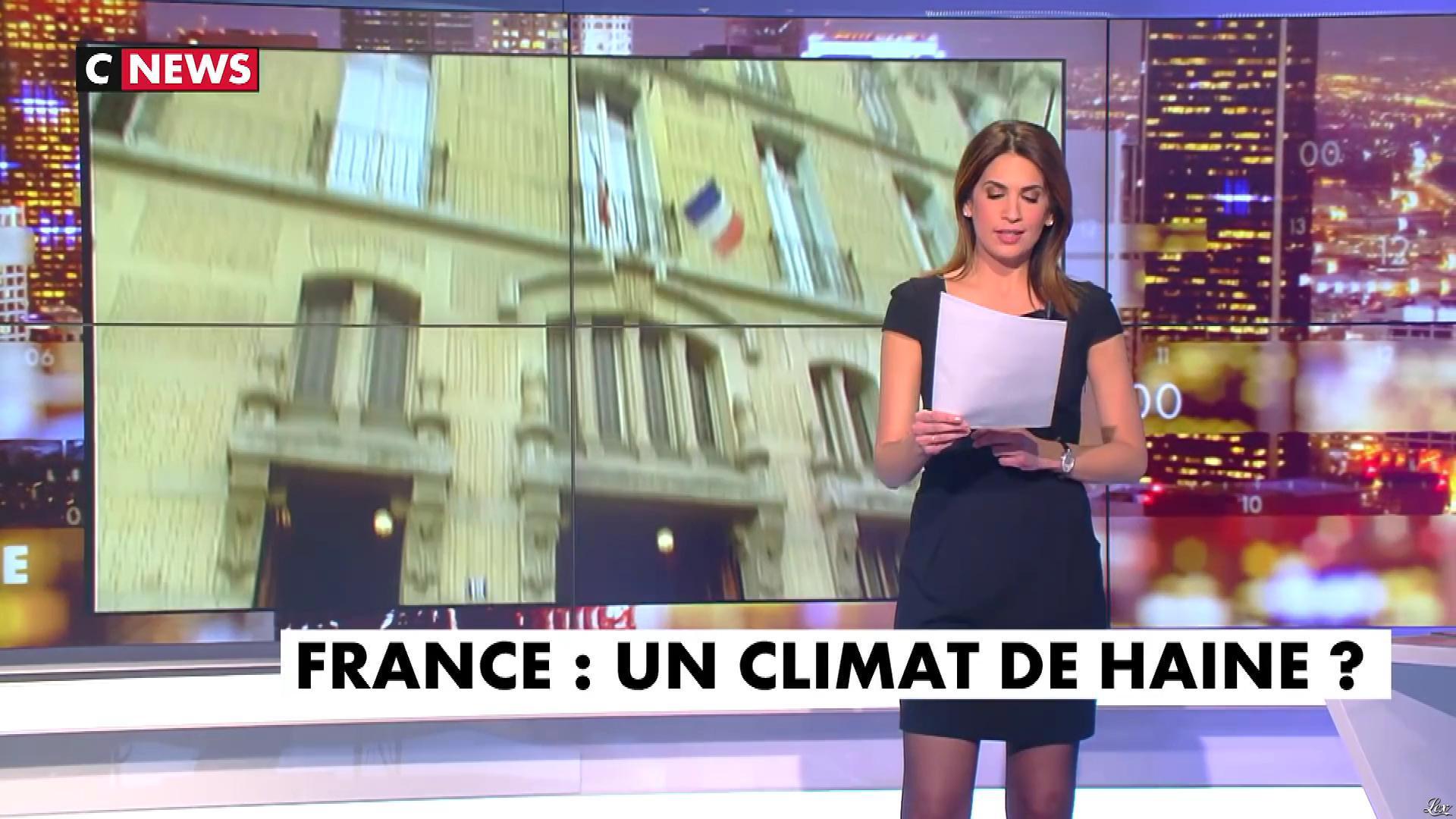 Sonia Mabrouk dans les Voix de l'Info. Diffusé à la télévision le 12/02/19.