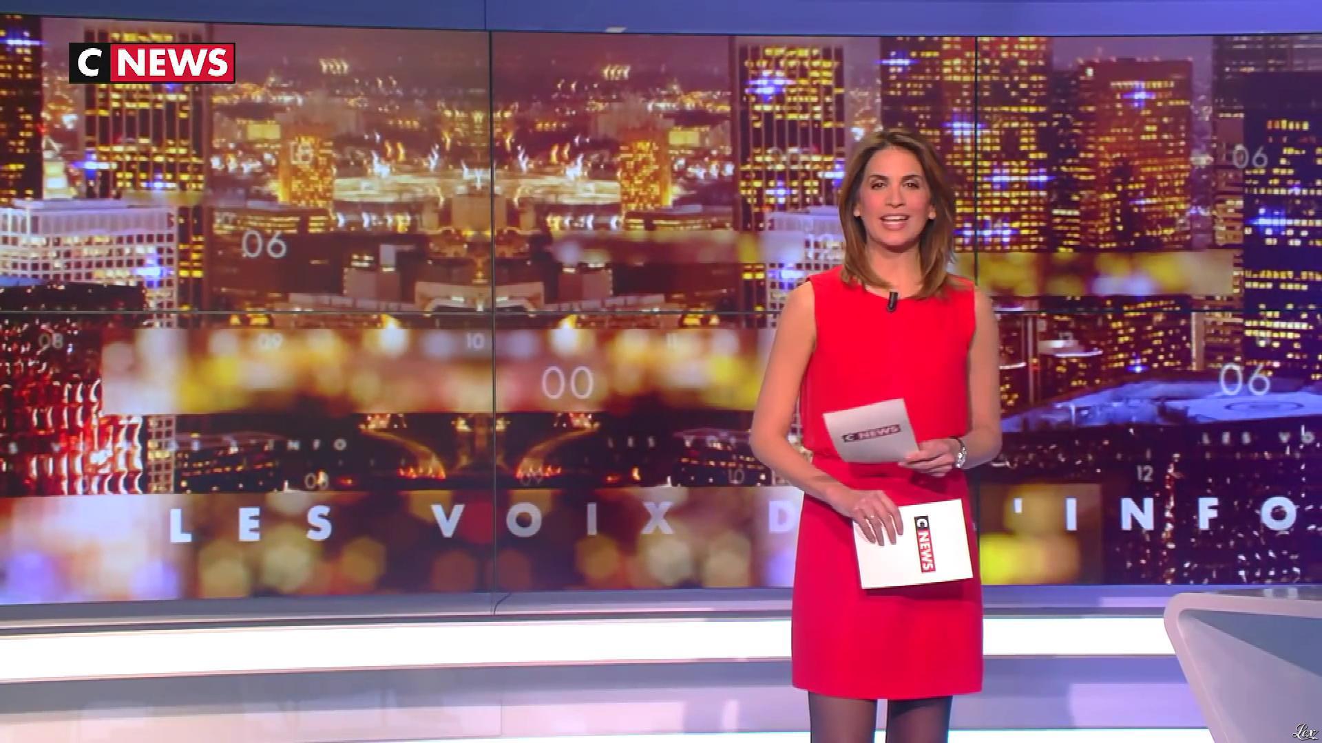 Sonia Mabrouk dans les Voix de l'Info. Diffusé à la télévision le 14/02/19.