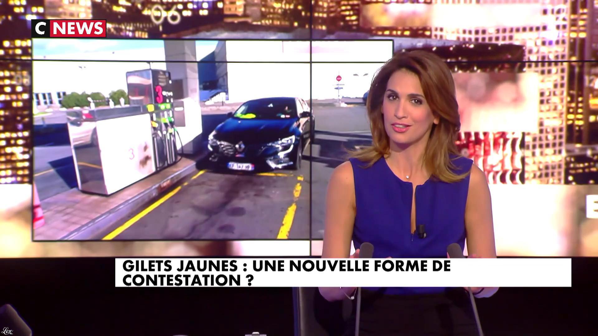 Sonia Mabrouk dans les Voix de l'Info. Diffusé à la télévision le 14/11/18.