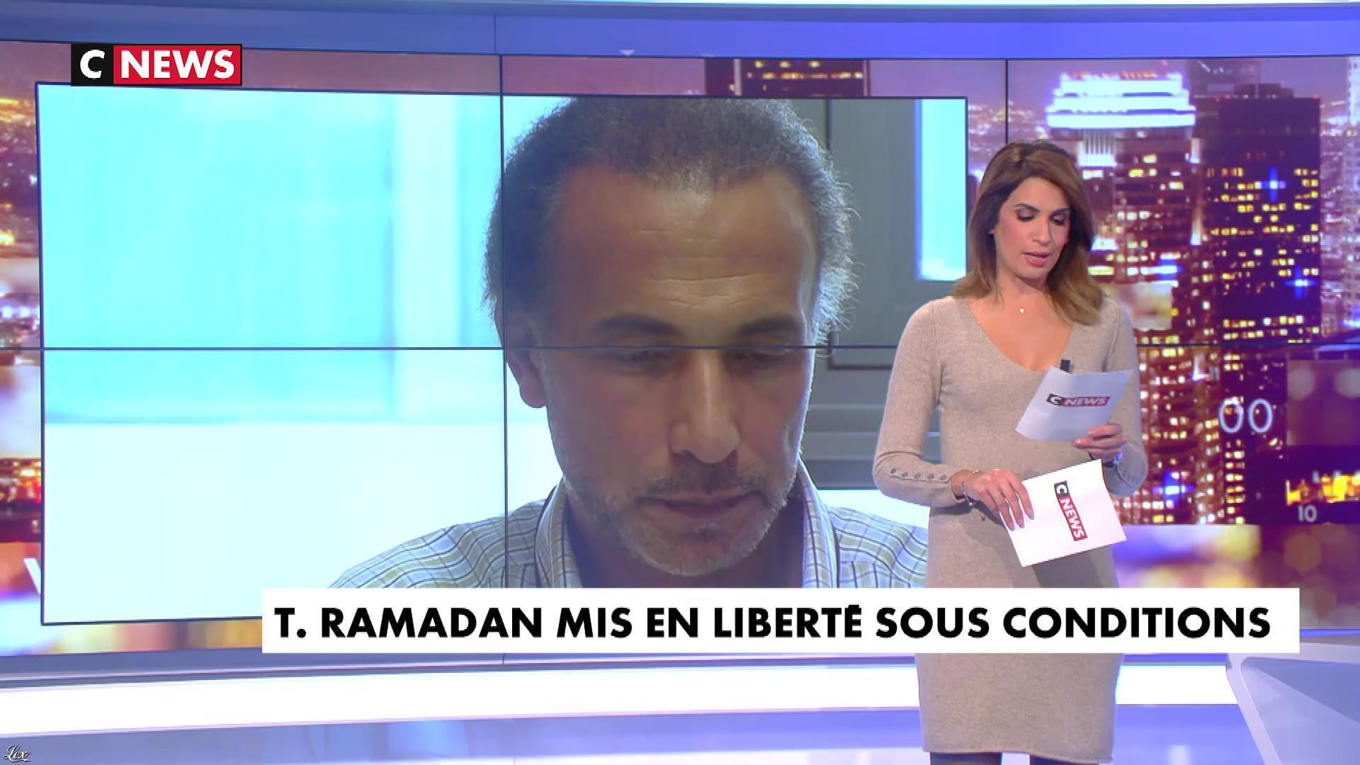 Sonia Mabrouk dans les Voix de l'Info. Diffusé à la télévision le 15/11/18.