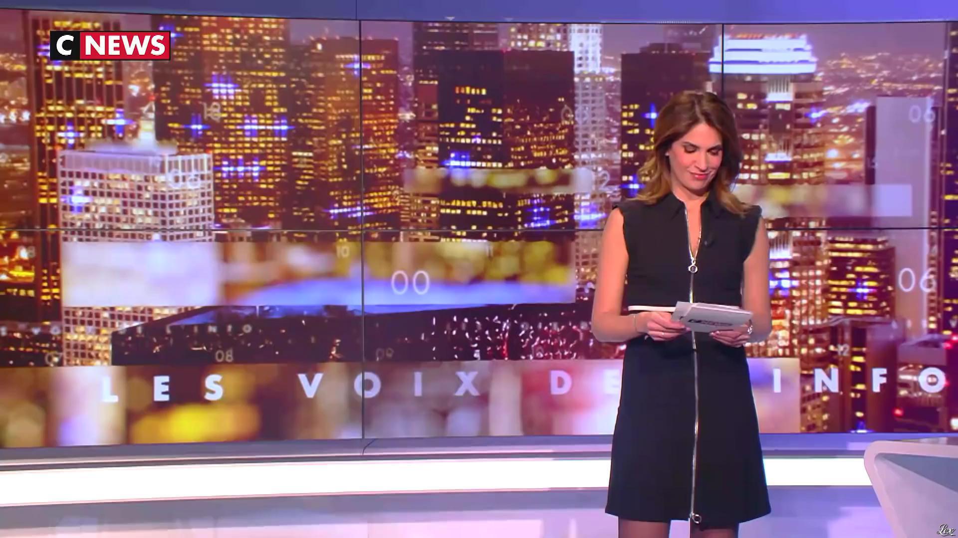 Sonia Mabrouk dans les Voix de l'Info. Diffusé à la télévision le 18/02/19.