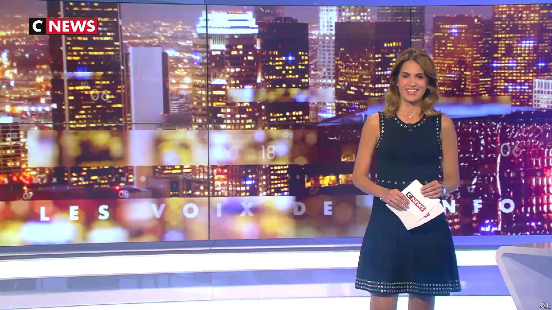 Sonia Mabrouk dans les Voix de l'Info. Diffusé à la télévision le 19/09/18.