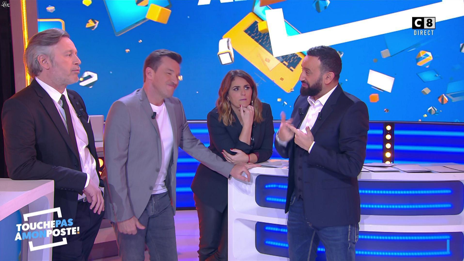 Valérie Benaim dans Touche pas à mon Poste. Diffusé à la télévision le 18/02/19.